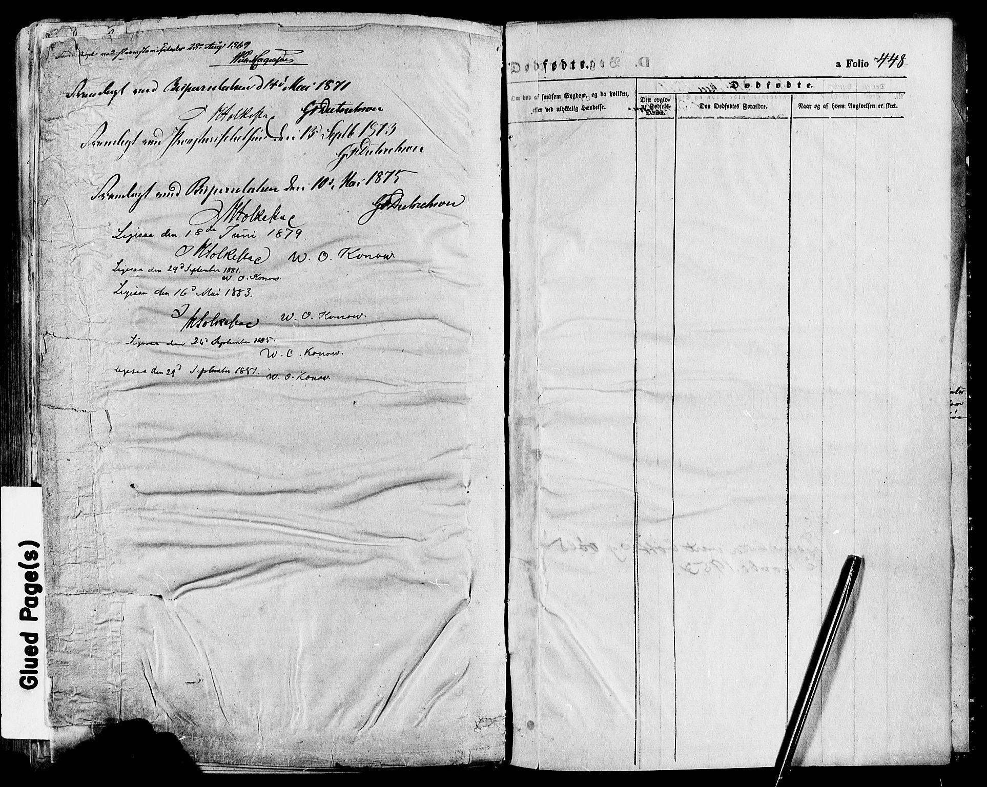 SAH, Gausdal prestekontor, Parish register (official) no. 10, 1867-1886