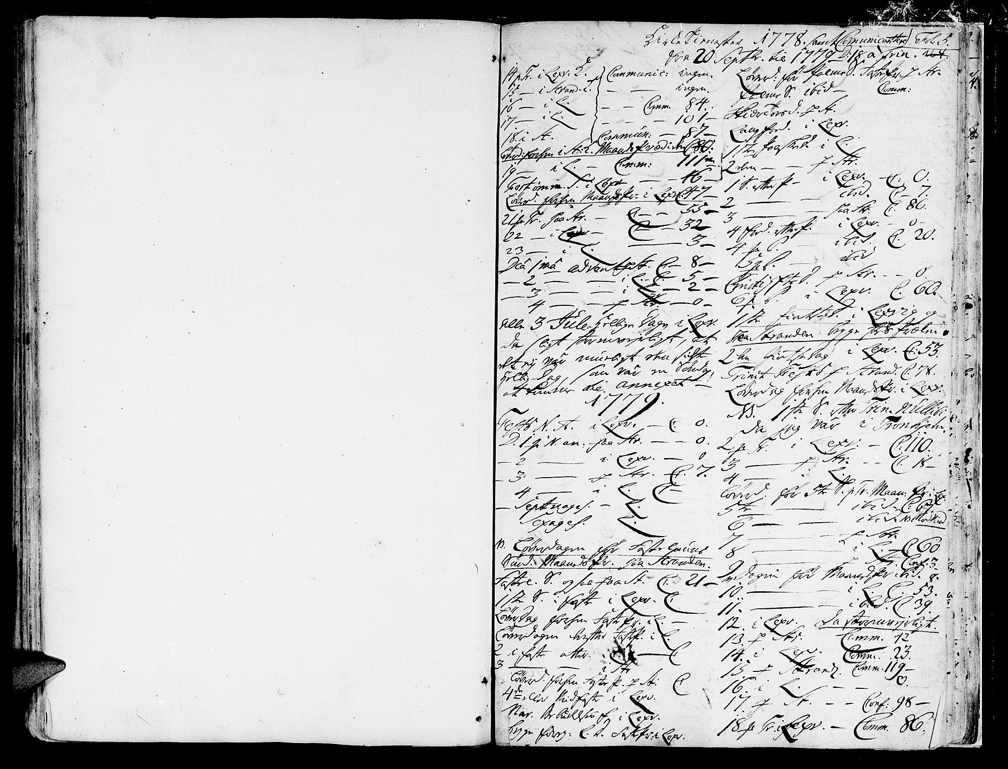 SAT, Ministerialprotokoller, klokkerbøker og fødselsregistre - Nord-Trøndelag, 701/L0003: Parish register (official) no. 701A03, 1751-1783, p. 164