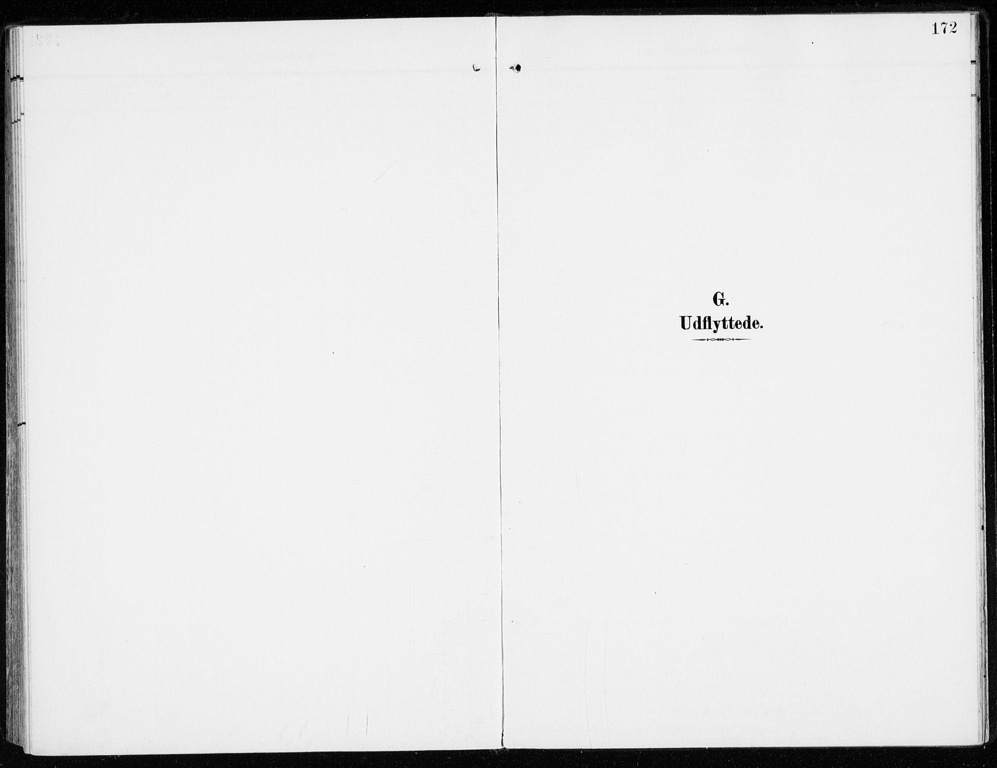 SAH, Sel prestekontor, Parish register (official) no. 2, 1905-1919, p. 172