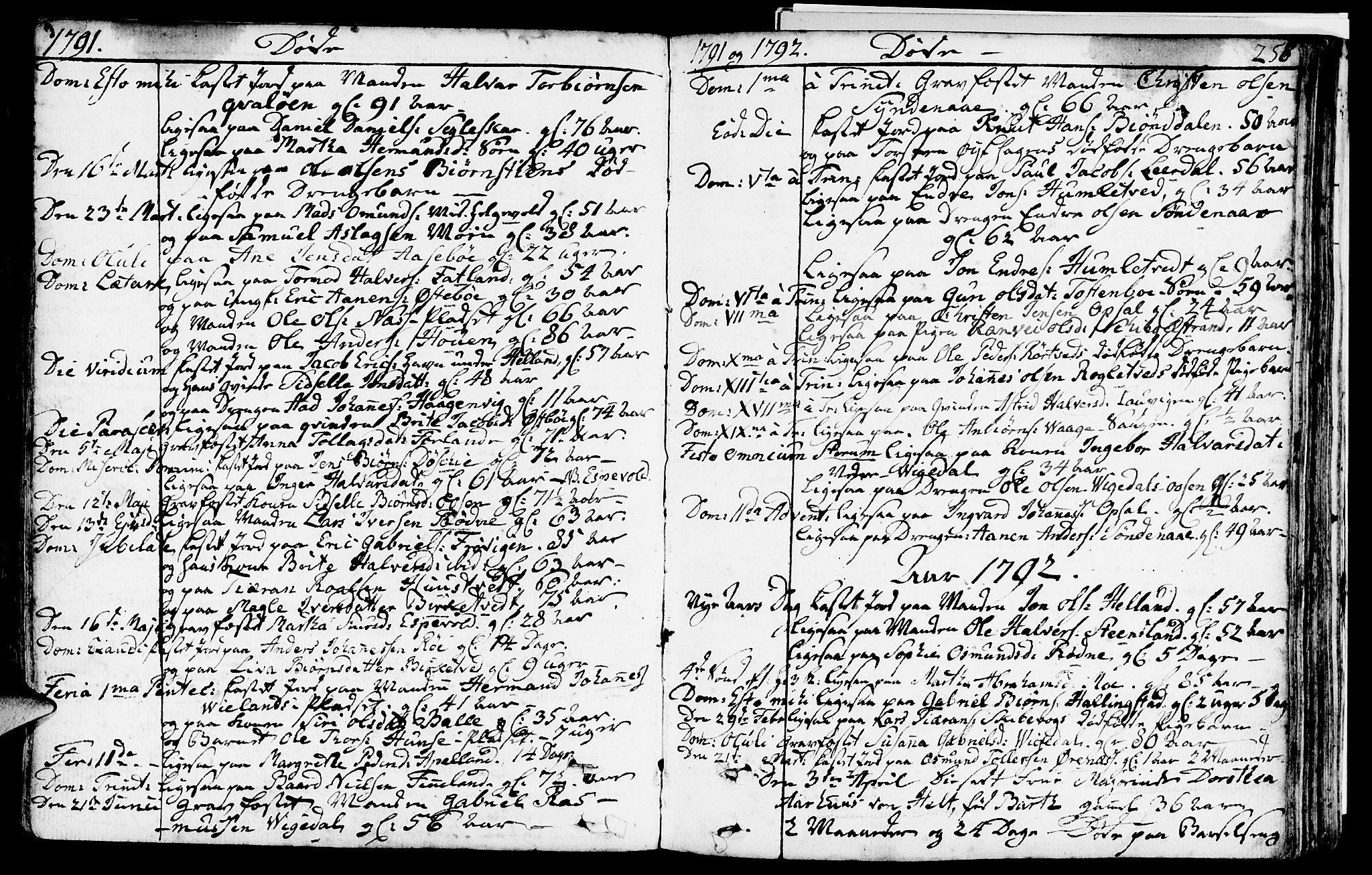 SAST, Vikedal sokneprestkontor, IV: Parish register (official) no. A 2, 1779-1817, p. 258