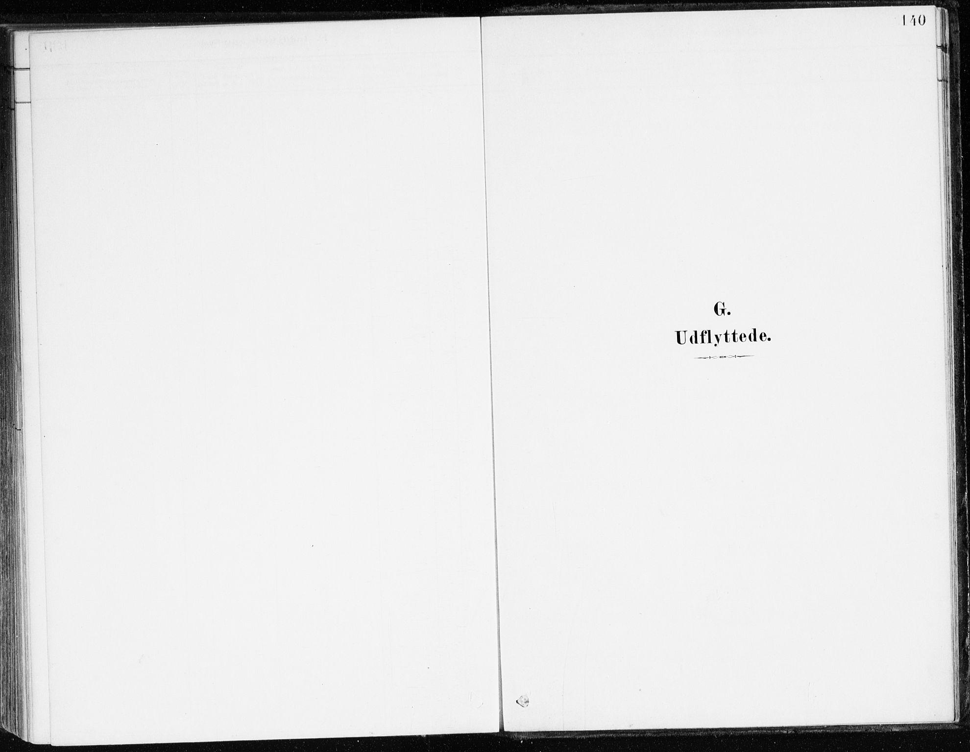 SAB, Aurland Sokneprestembete*, Parish register (official) no. C 1, 1880-1921, p. 140