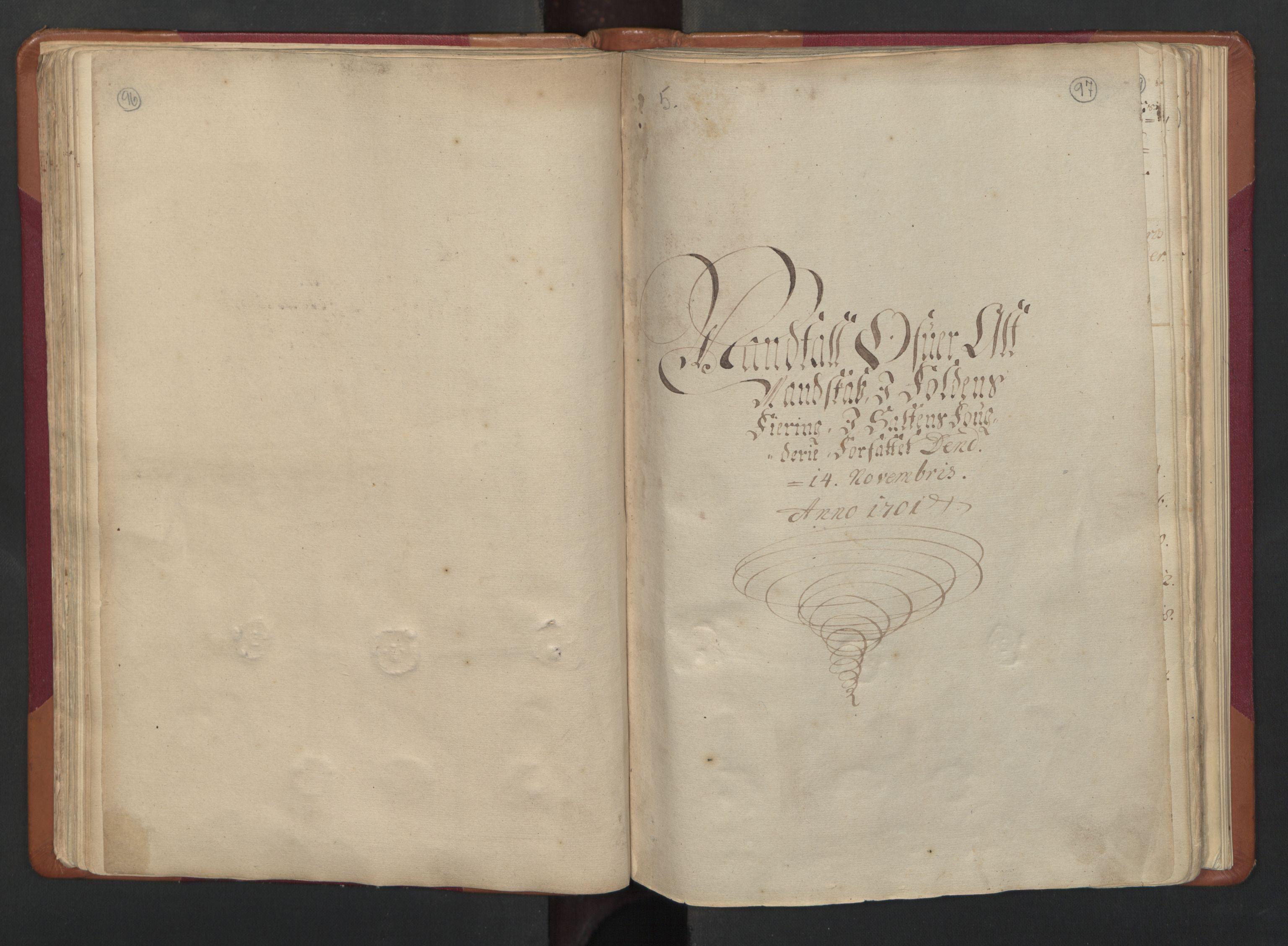 RA, Census (manntall) 1701, no. 17: Salten fogderi, 1701, p. 96-97
