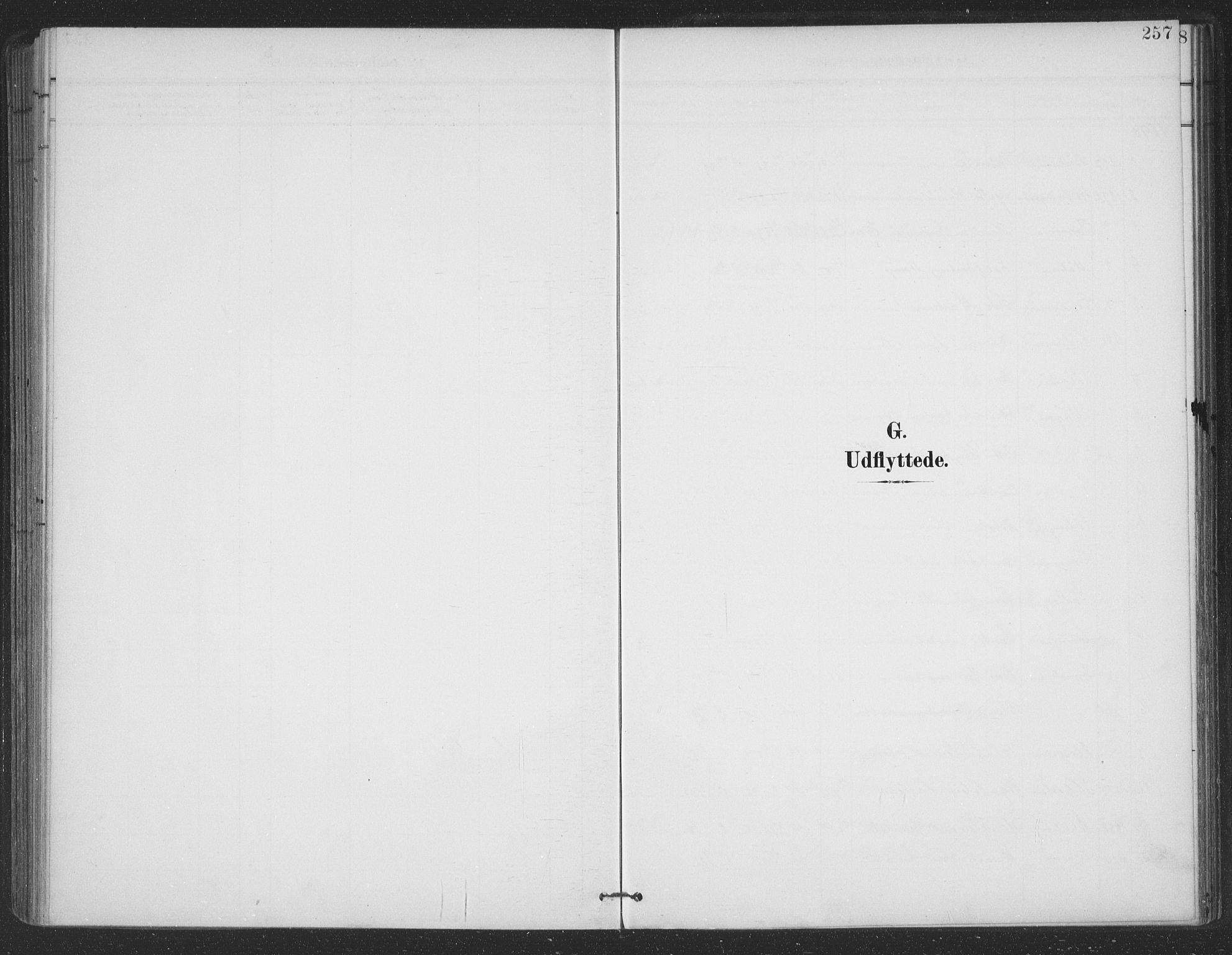 SAT, Ministerialprotokoller, klokkerbøker og fødselsregistre - Nordland, 863/L0899: Parish register (official) no. 863A11, 1897-1906, p. 257