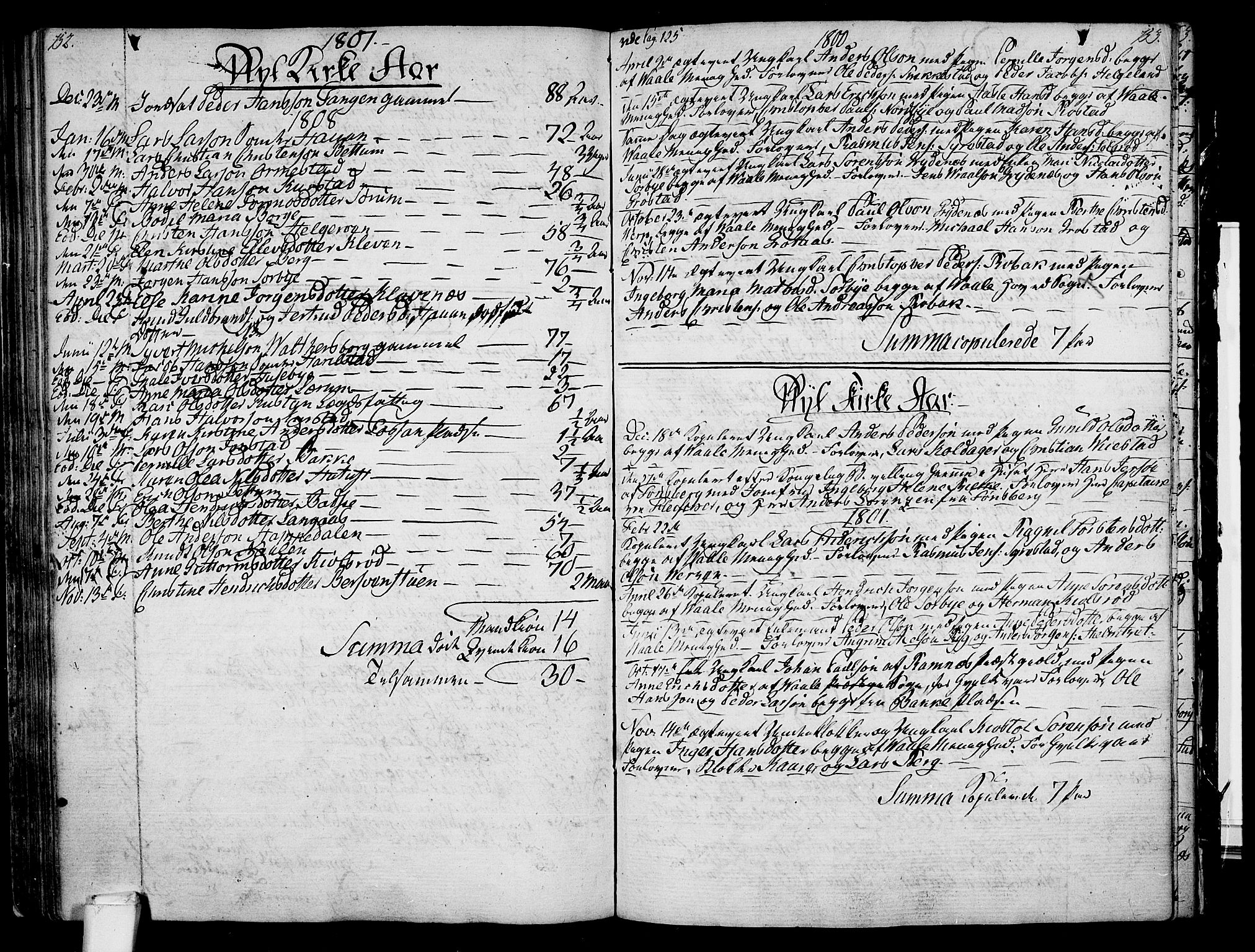 SAKO, Våle kirkebøker, F/Fa/L0005: Parish register (official) no. I 5, 1773-1808, p. 152-153