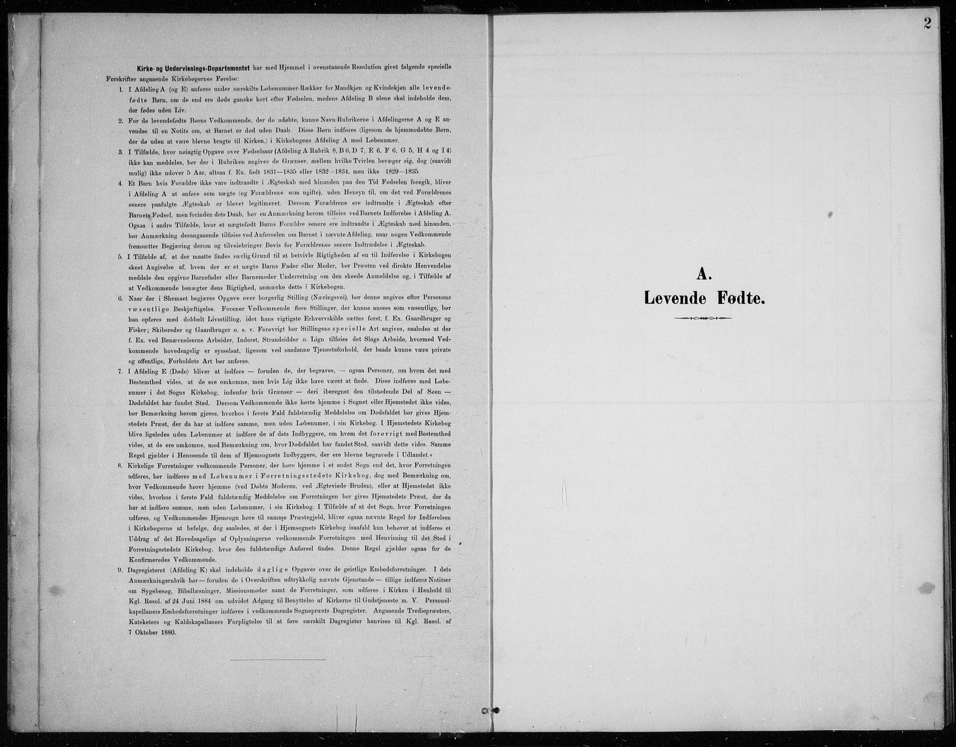 SAB, Balestrand sokneprestembete, H/Hab/Habc/L0003: Parish register (copy) no. C 3, 1895-1927, p. 2
