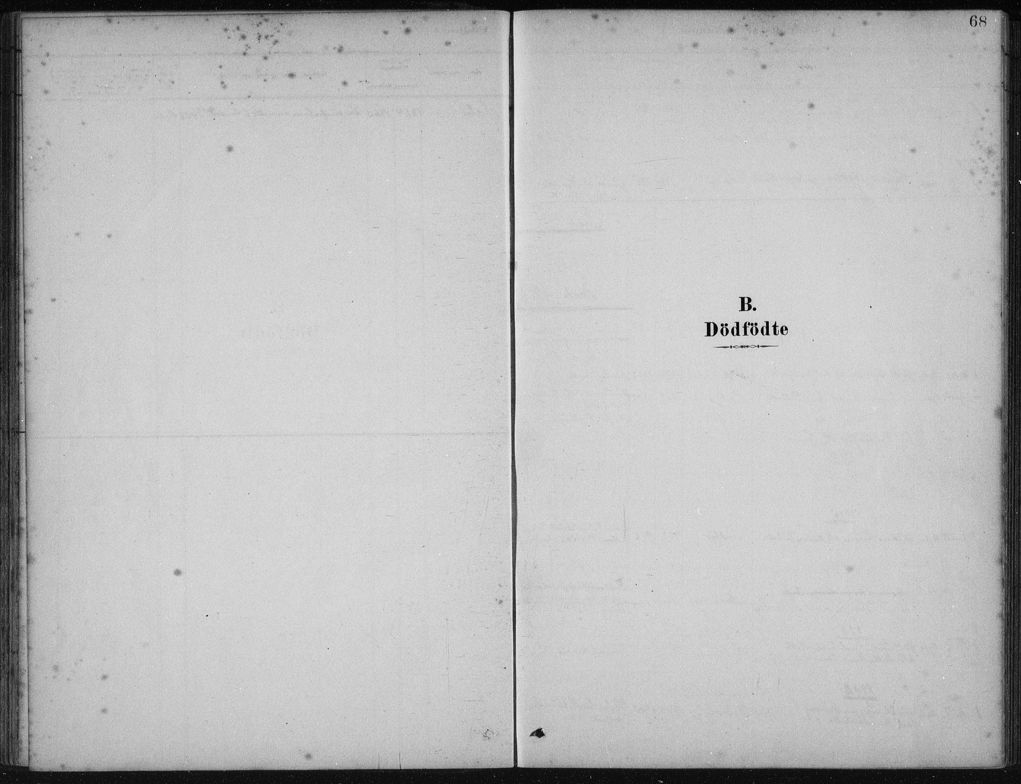 SAB, Fjelberg Sokneprestembete, H/Haa: Parish register (official) no. B  1, 1879-1919, p. 68