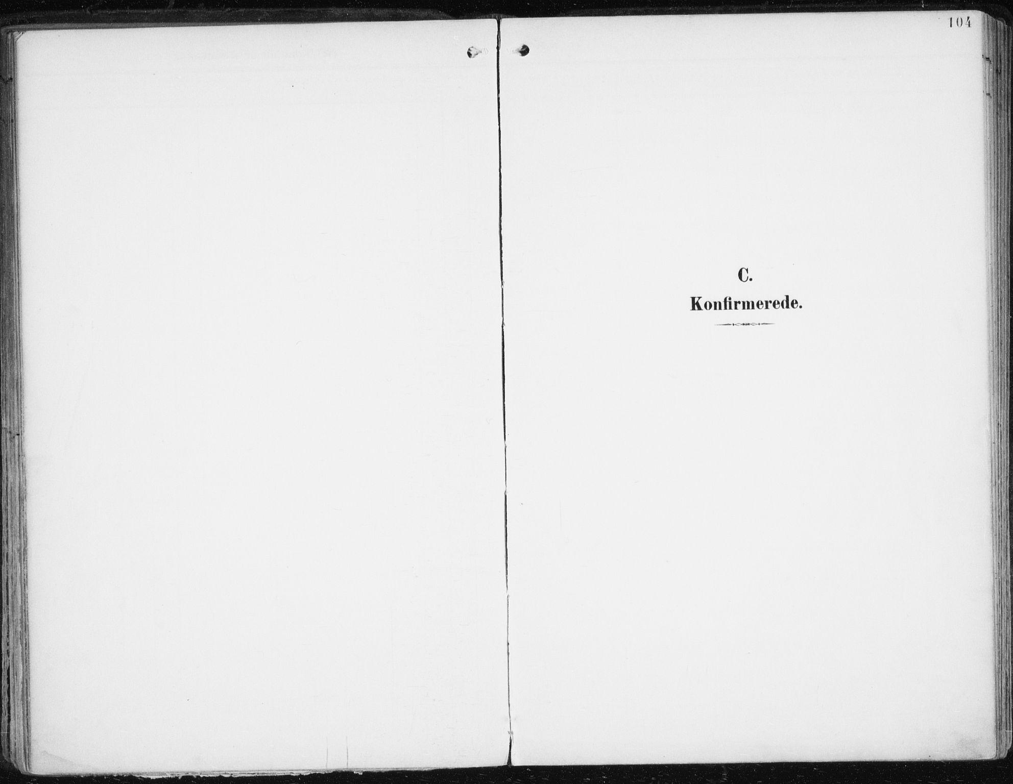 SATØ, Balsfjord sokneprestembete, Parish register (official) no. 6, 1897-1909, p. 104