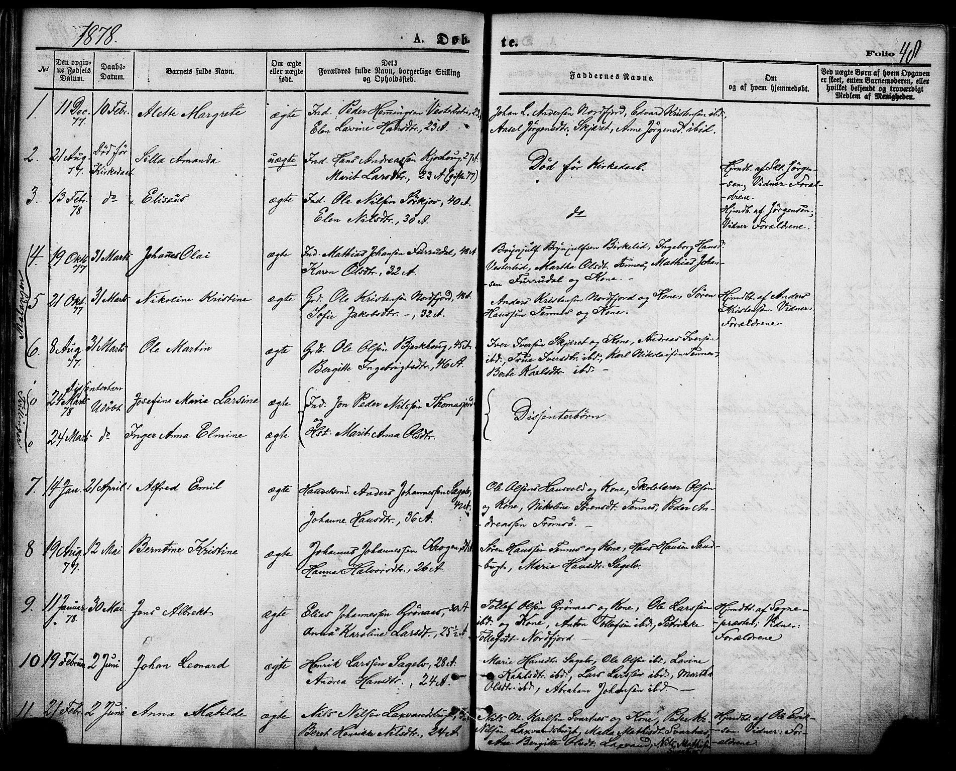 SATØ, Balsfjord sokneprestembete, Parish register (official) no. 4, 1871-1883, p. 48