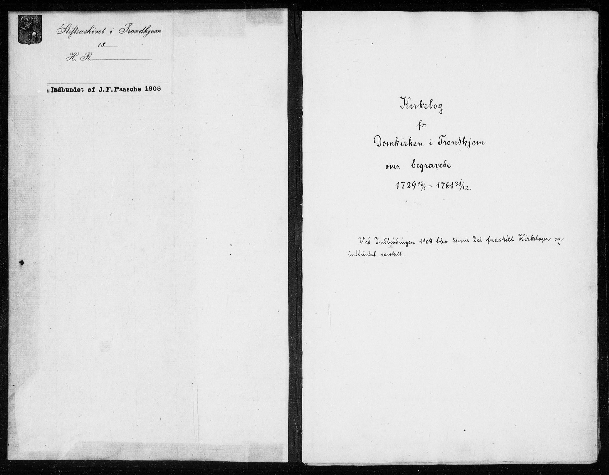 SAT, Ministerialprotokoller, klokkerbøker og fødselsregistre - Sør-Trøndelag, 601/L0037: Parish register (official) no. 601A05, 1729-1761