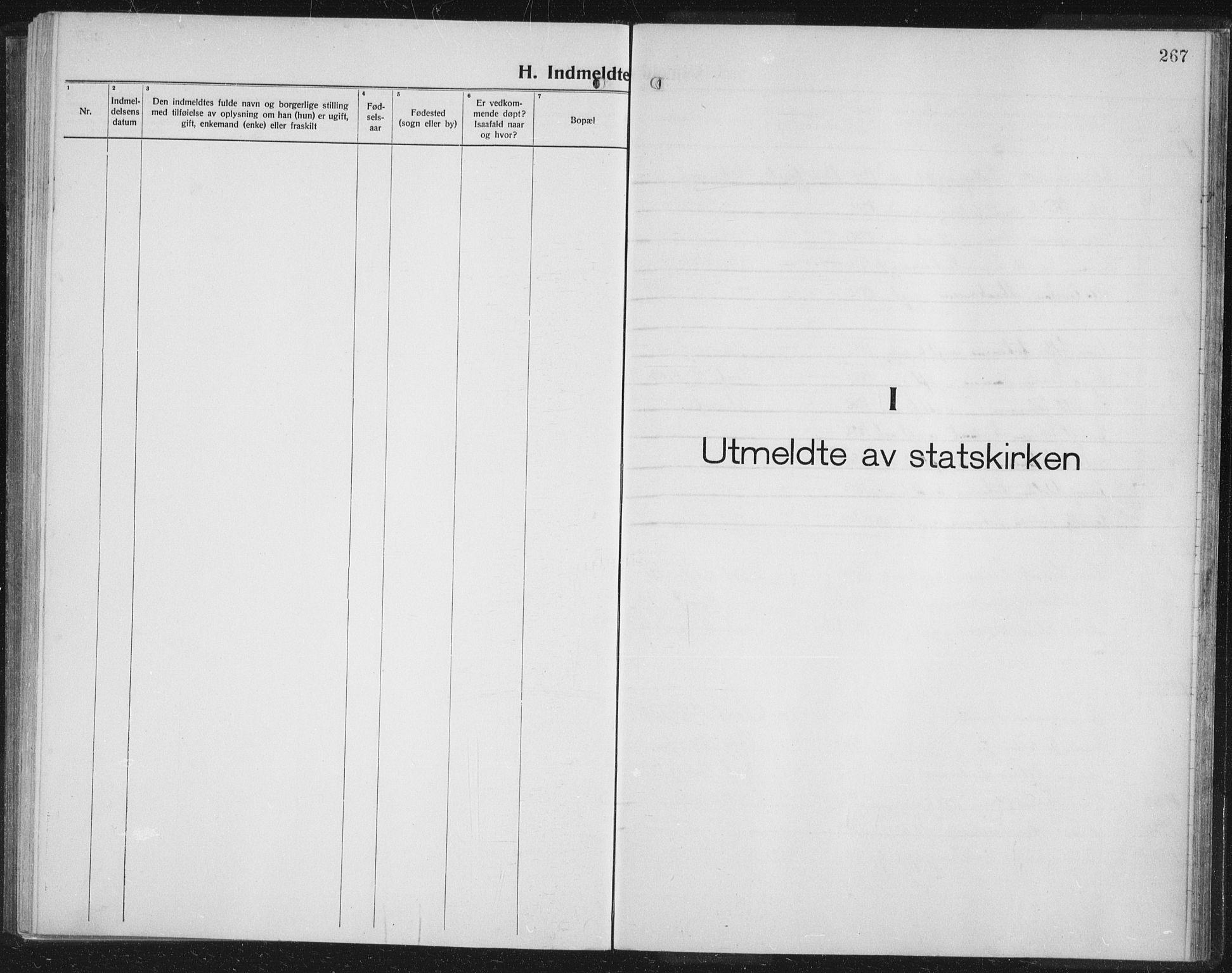 SATØ, Balsfjord sokneprestembete, Parish register (copy) no. 10, 1921-1936, p. 267