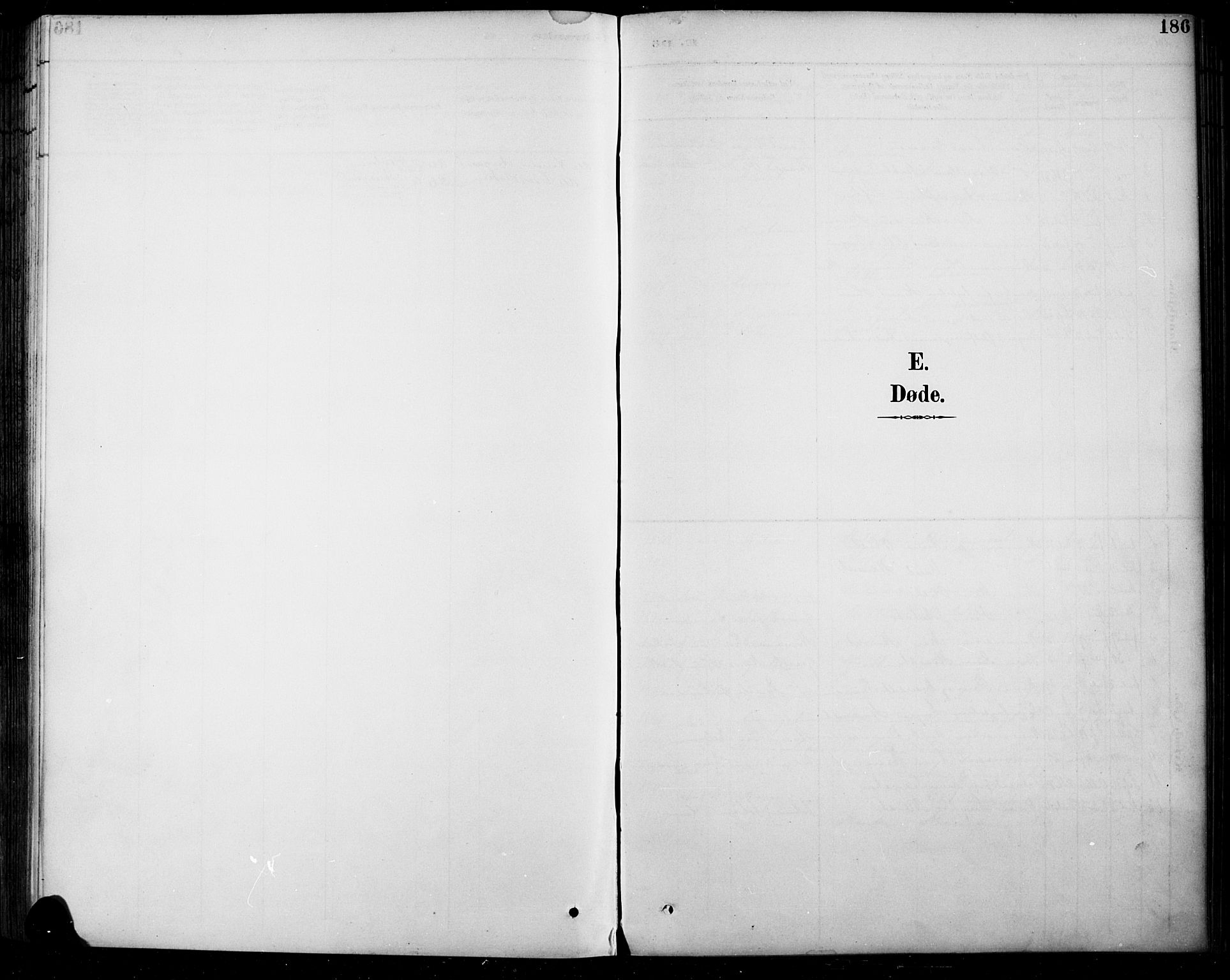 SAH, Sel prestekontor, Parish register (copy) no. 5, 1894-1923, p. 186