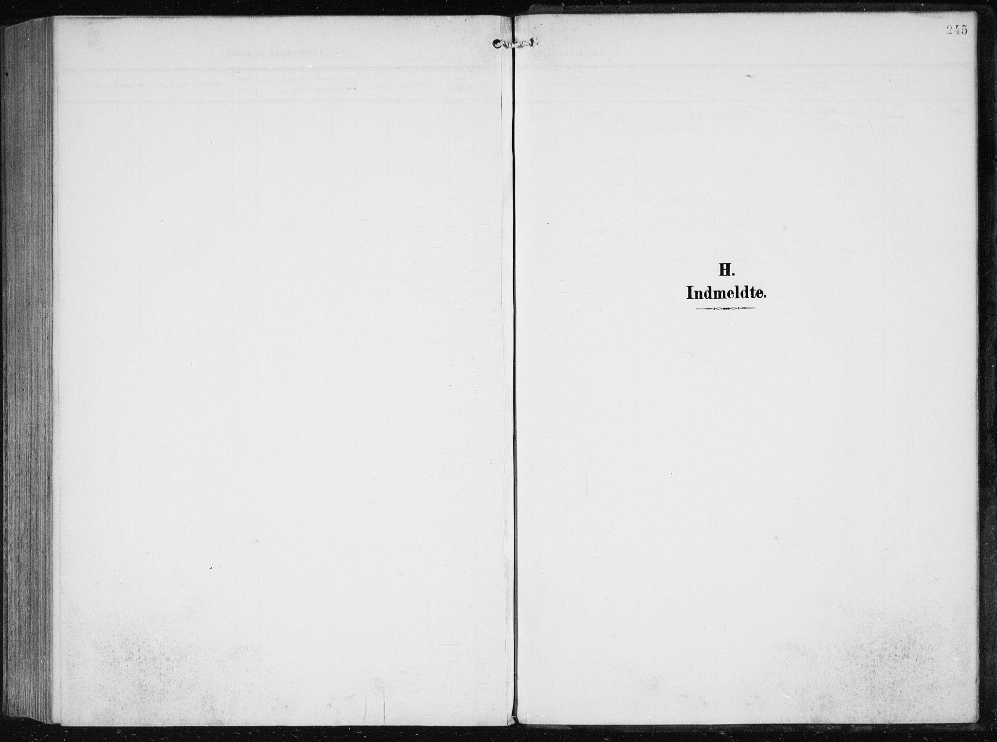 SAB, Herdla Sokneprestembete, H/Haa: Parish register (official) no. A 5, 1905-1918, p. 245