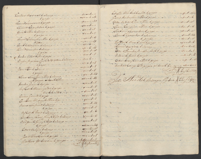 RA, Rentekammeret inntil 1814, Reviderte regnskaper, Fogderegnskap, R55/L3660: Fogderegnskap Romsdal, 1711, p. 136