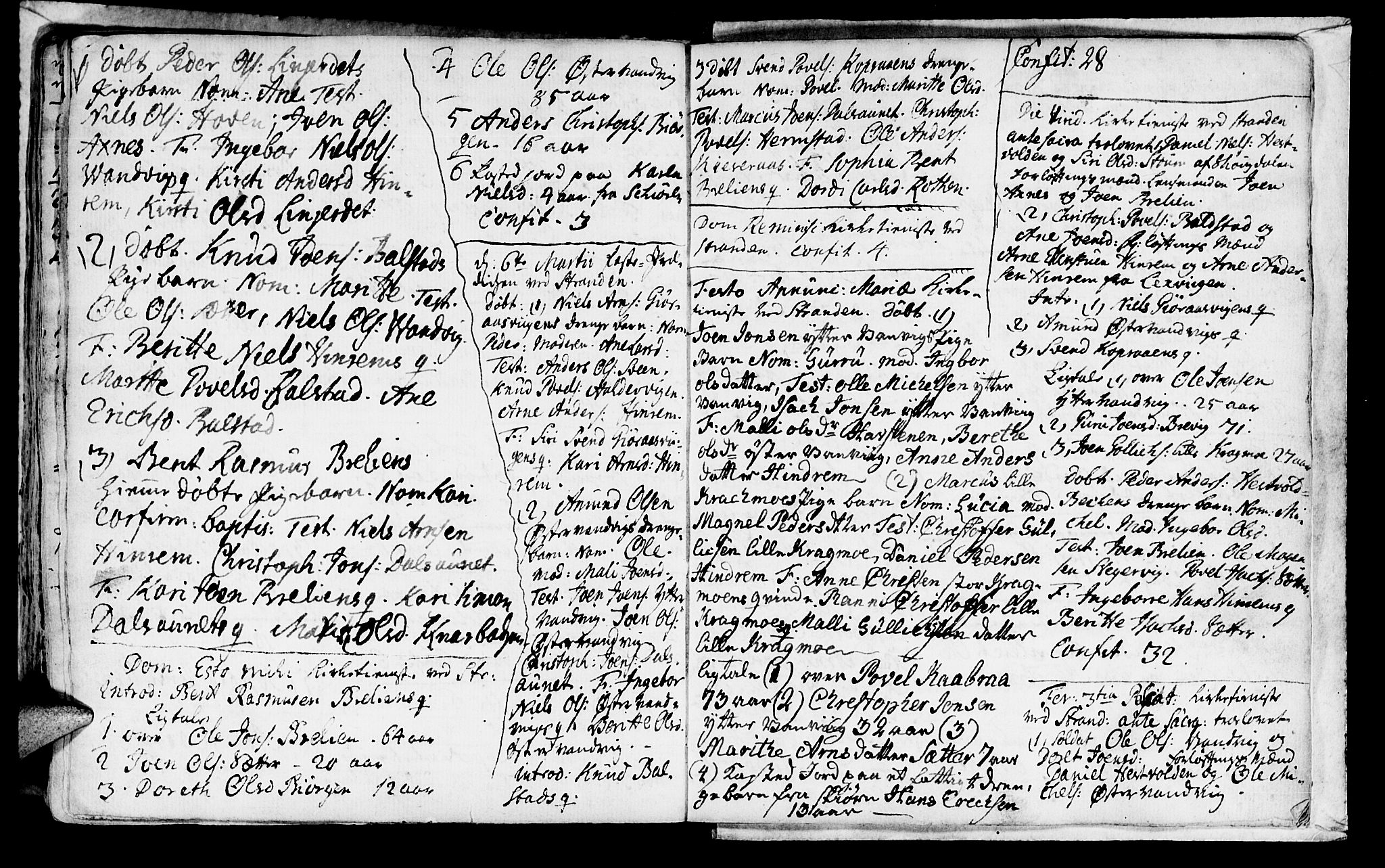 SAT, Ministerialprotokoller, klokkerbøker og fødselsregistre - Nord-Trøndelag, 701/L0002: Parish register (official) no. 701A02 /2, 1738-1752