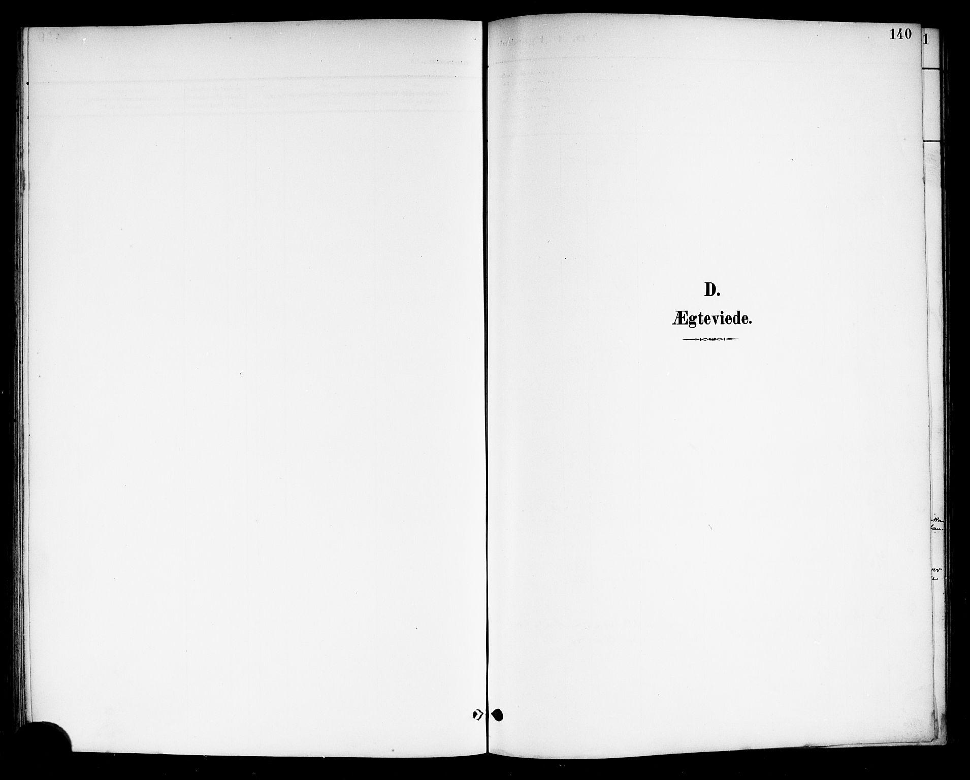 SAKO, Drangedal kirkebøker, G/Gb/L0002: Parish register (copy) no. II 2, 1895-1918, p. 140