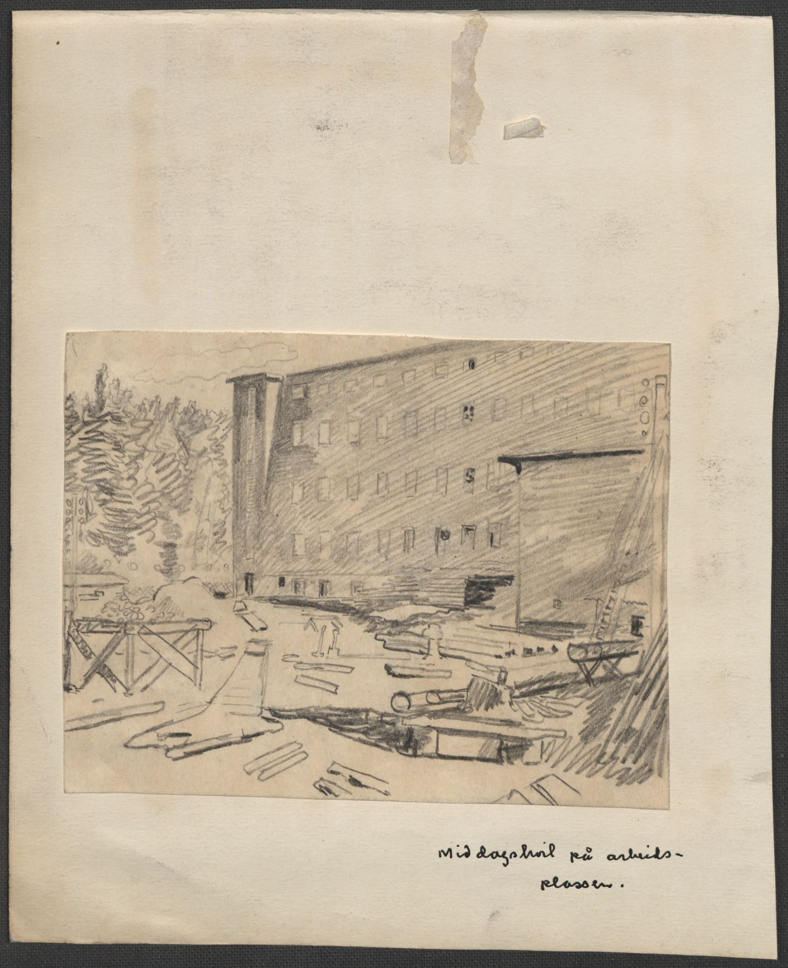 RA, Grøgaard, Joachim, F/L0002: Tegninger og tekster, 1942-1945, p. 107