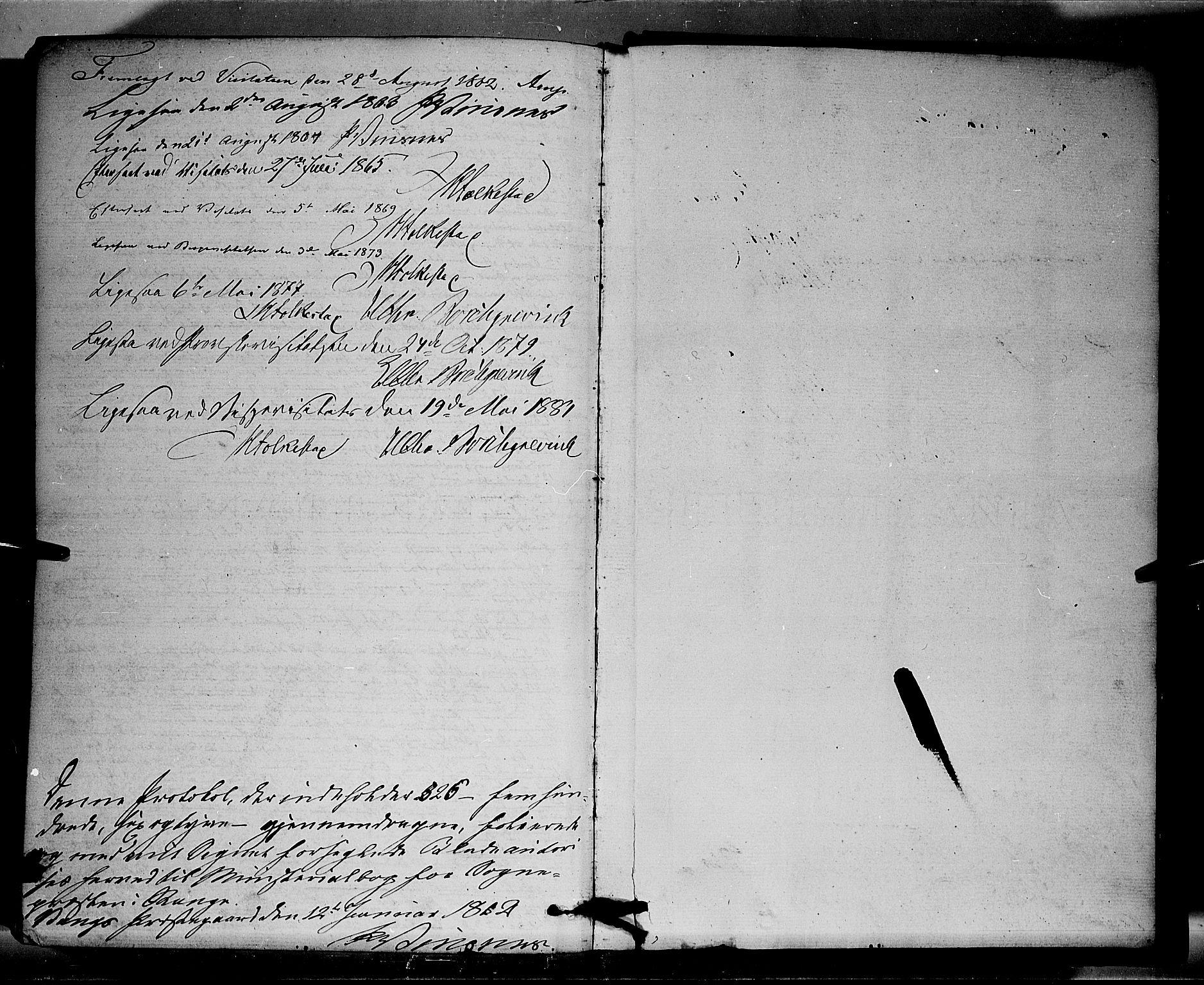SAH, Stange prestekontor, K/L0013: Parish register (official) no. 13, 1862-1879