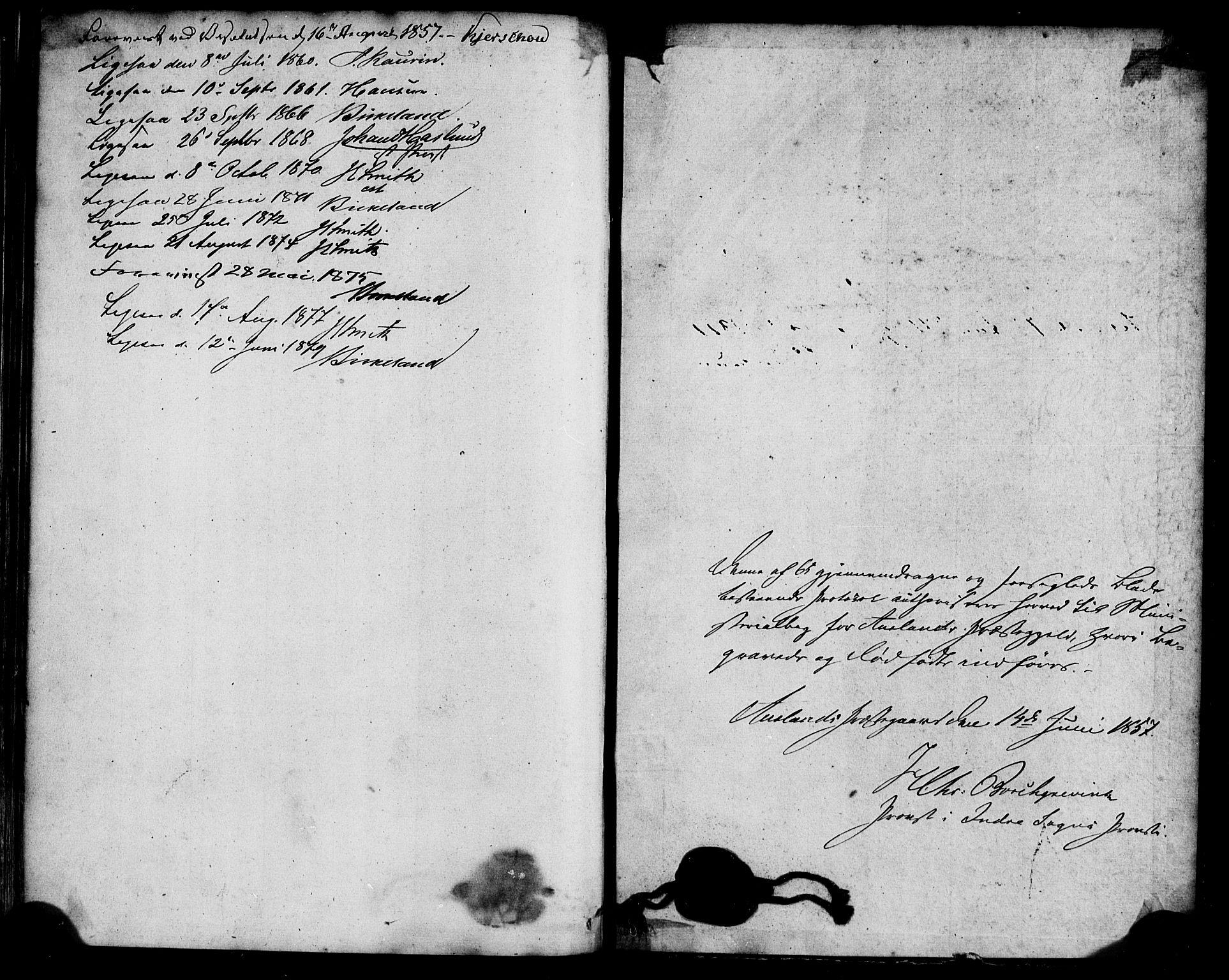 SAB, Aurland Sokneprestembete*, Parish register (official) no. A 11, 1857-1879