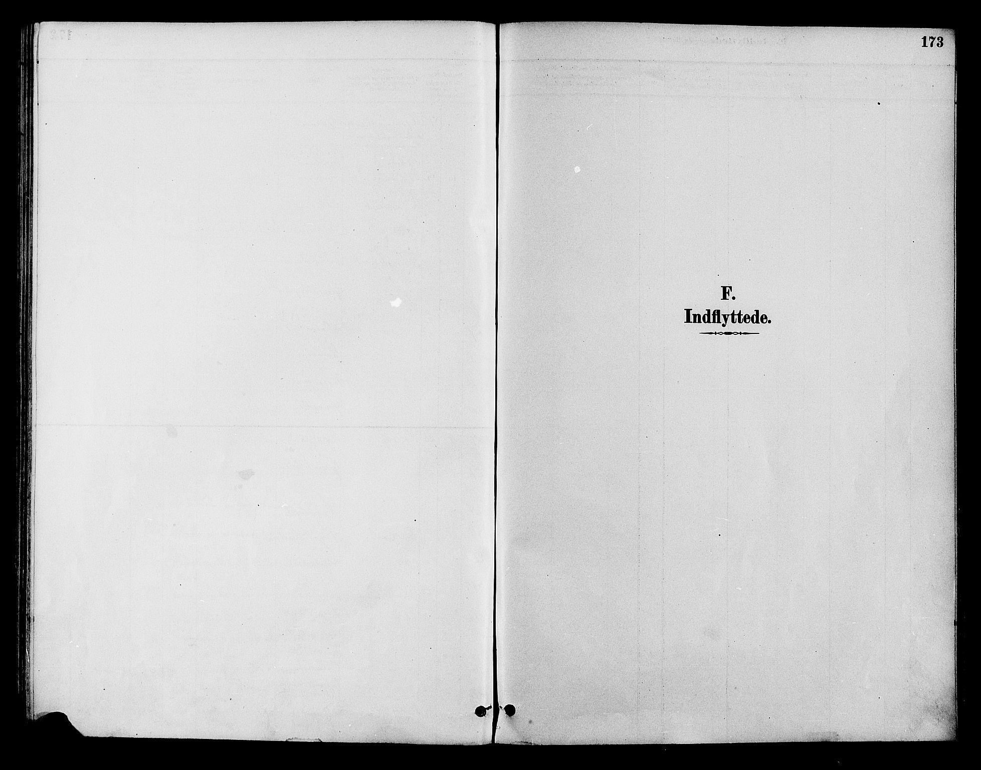 SAH, Lom prestekontor, K/L0008: Parish register (official) no. 8, 1885-1898, p. 173
