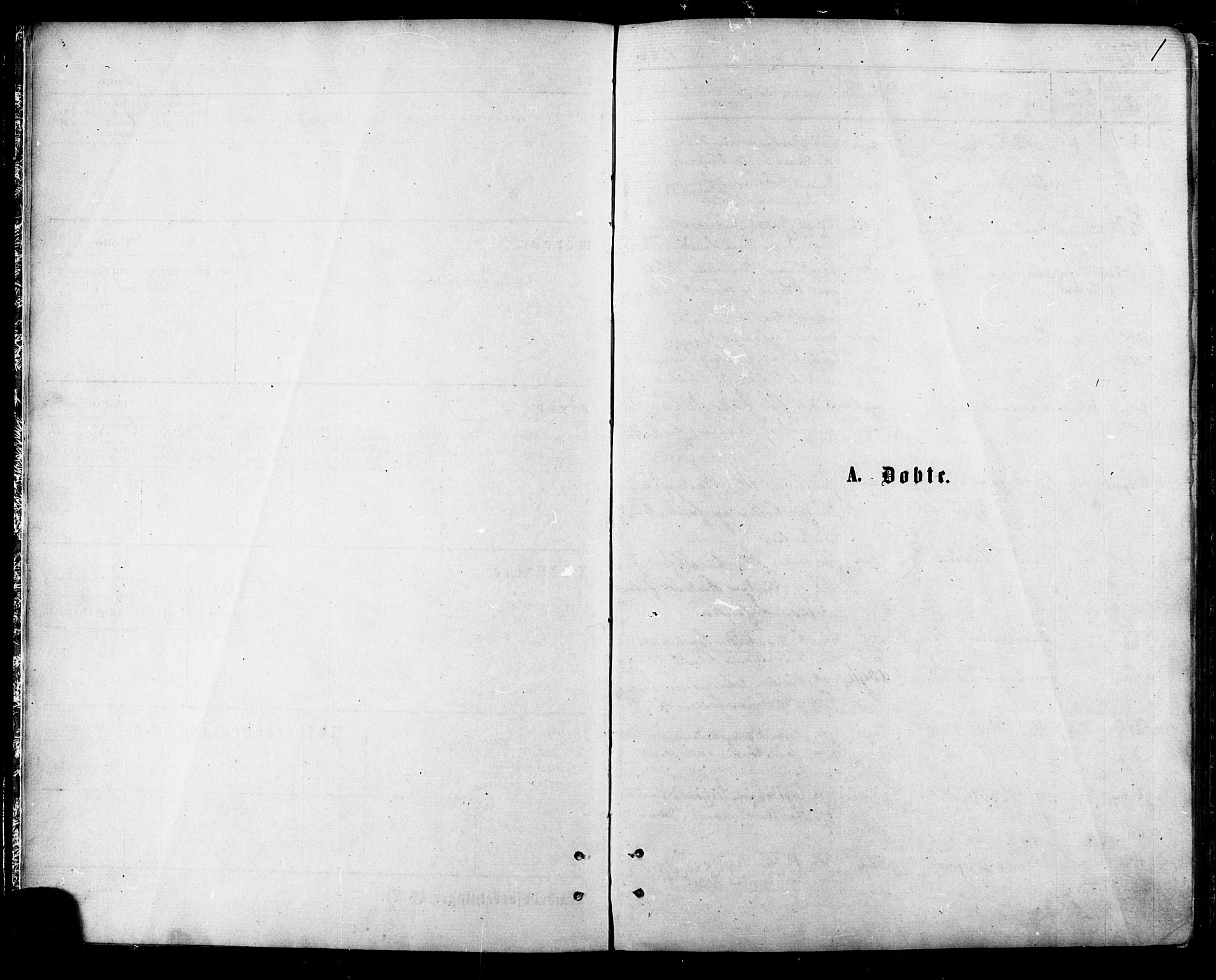 SATØ, Balsfjord sokneprestembete, Parish register (official) no. 4, 1871-1883, p. 1