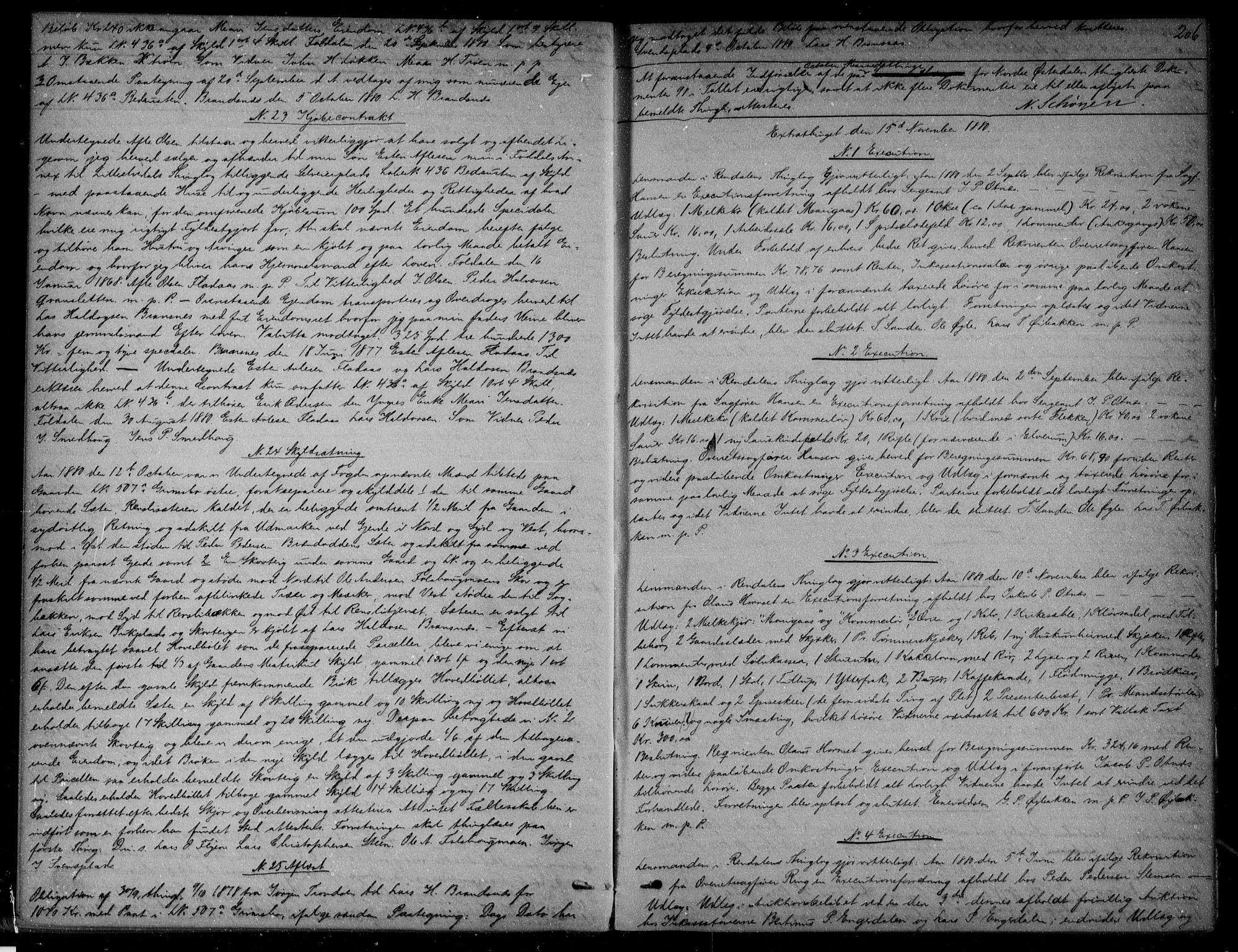 SAH, Nord-Østerdal tingrett, H/Hb/Hba/L0009: Mortgage book no. 9, 1879-1882, p. 206