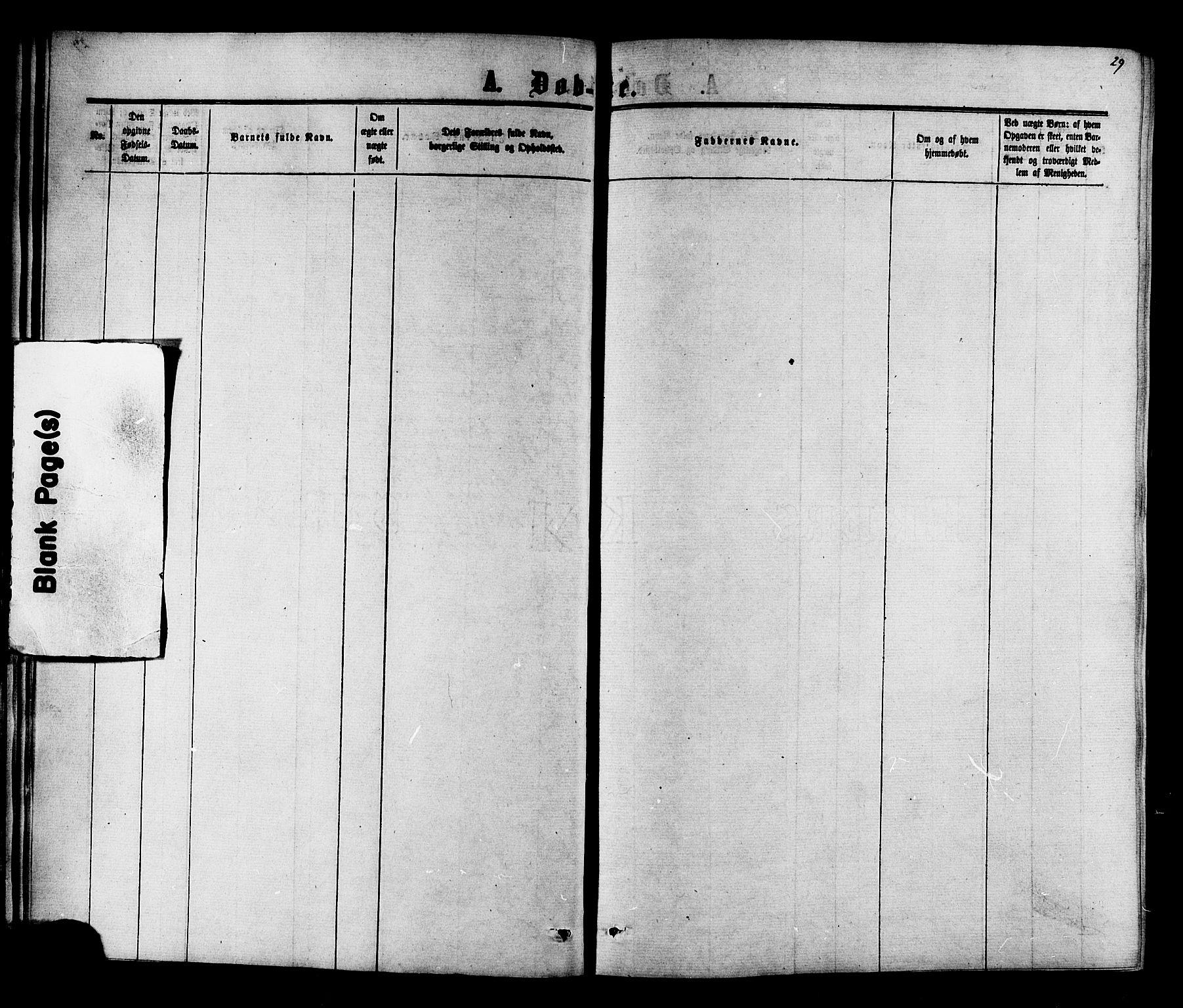 SAT, Ministerialprotokoller, klokkerbøker og fødselsregistre - Nord-Trøndelag, 703/L0038: Parish register (copy) no. 703C01, 1864-1870, p. 29