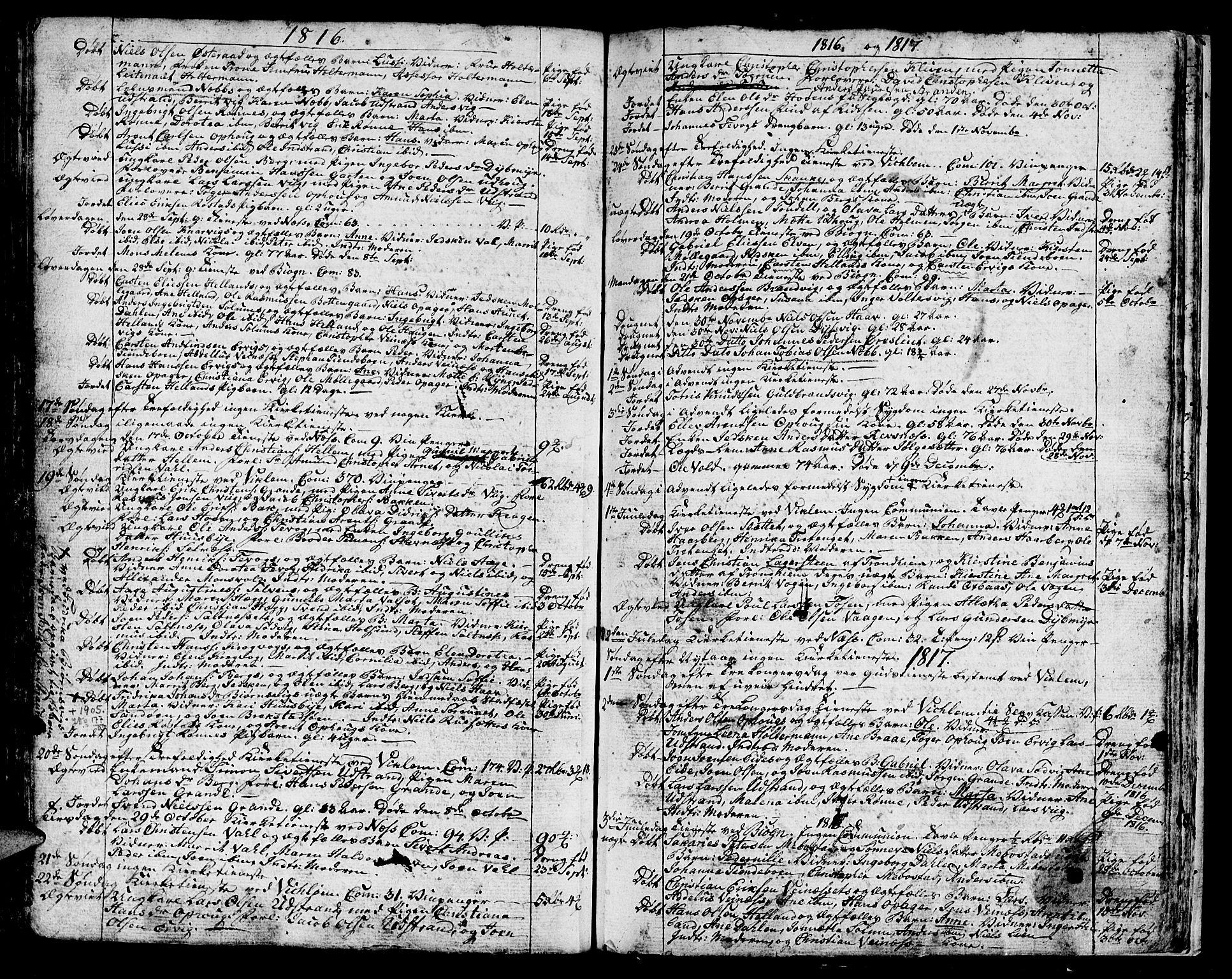 SAT, Ministerialprotokoller, klokkerbøker og fødselsregistre - Sør-Trøndelag, 659/L0733: Parish register (official) no. 659A03, 1767-1818