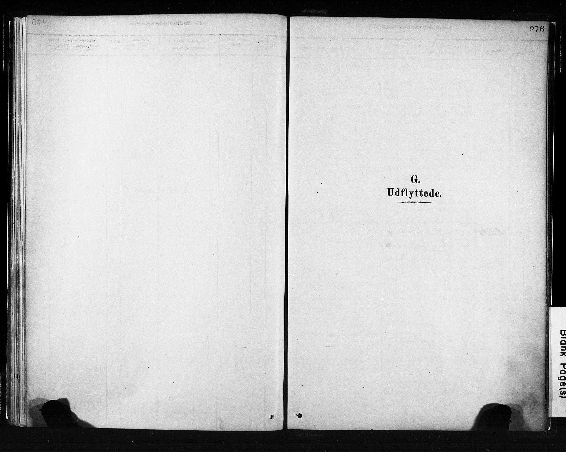 SAB, Evanger sokneprestembete*, Parish register (official) no. A 1, 1877-1899, p. 276