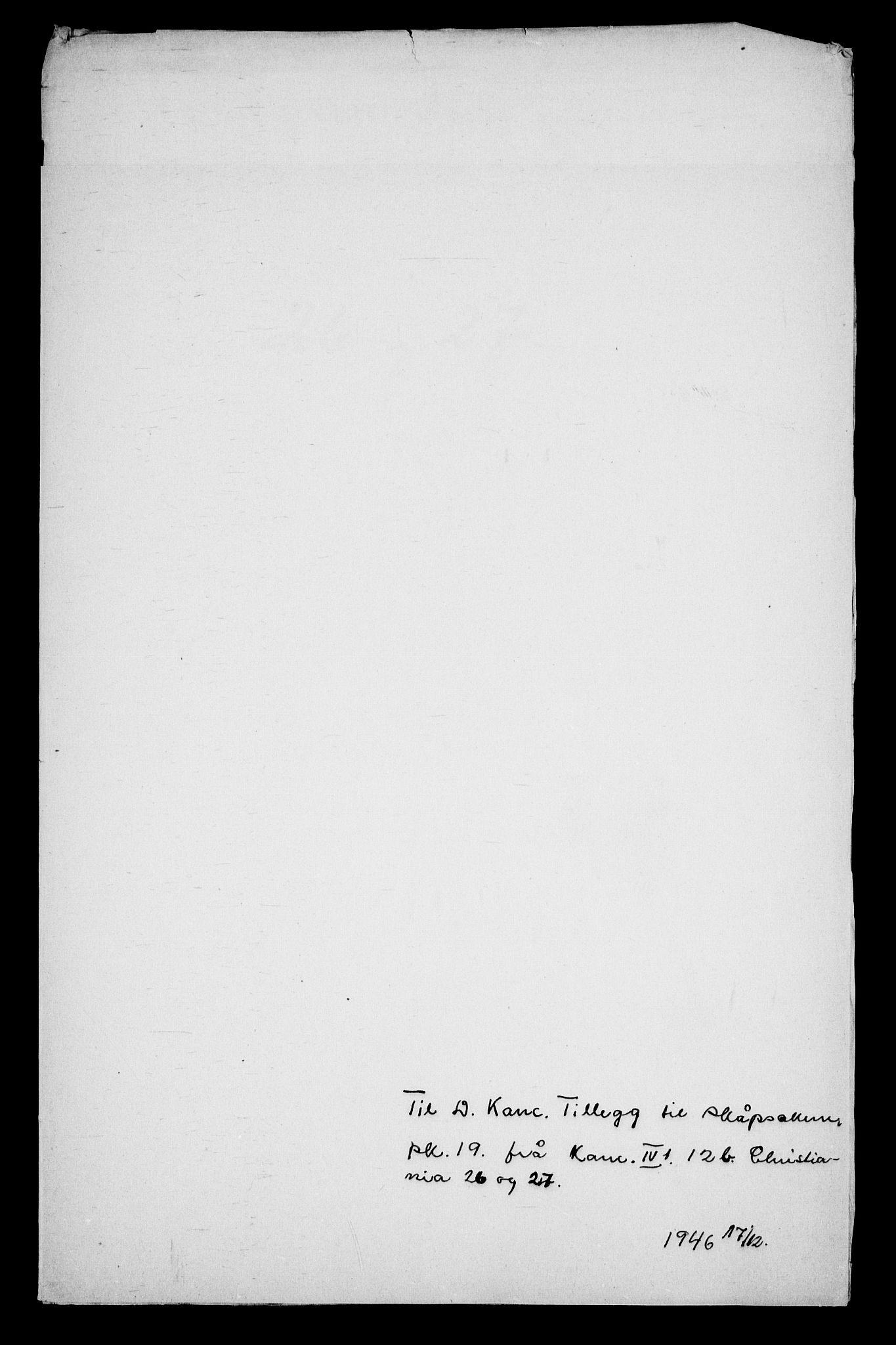RA, Danske Kanselli, Skapsaker, G/L0019: Tillegg til skapsakene, 1616-1753, p. 393