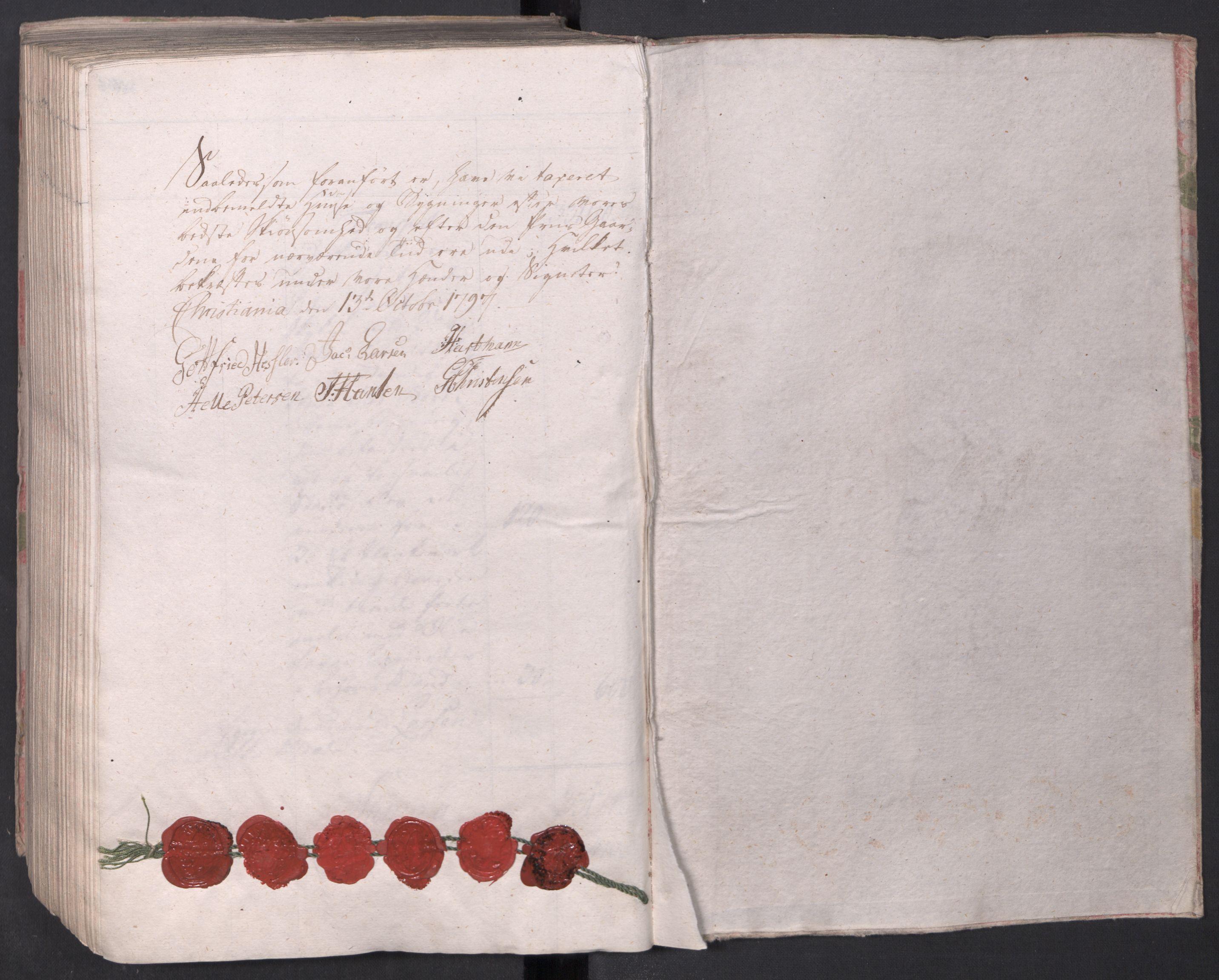 SAO, Kristiania stiftamt, I/Ia/L0015: Branntakster, 1797