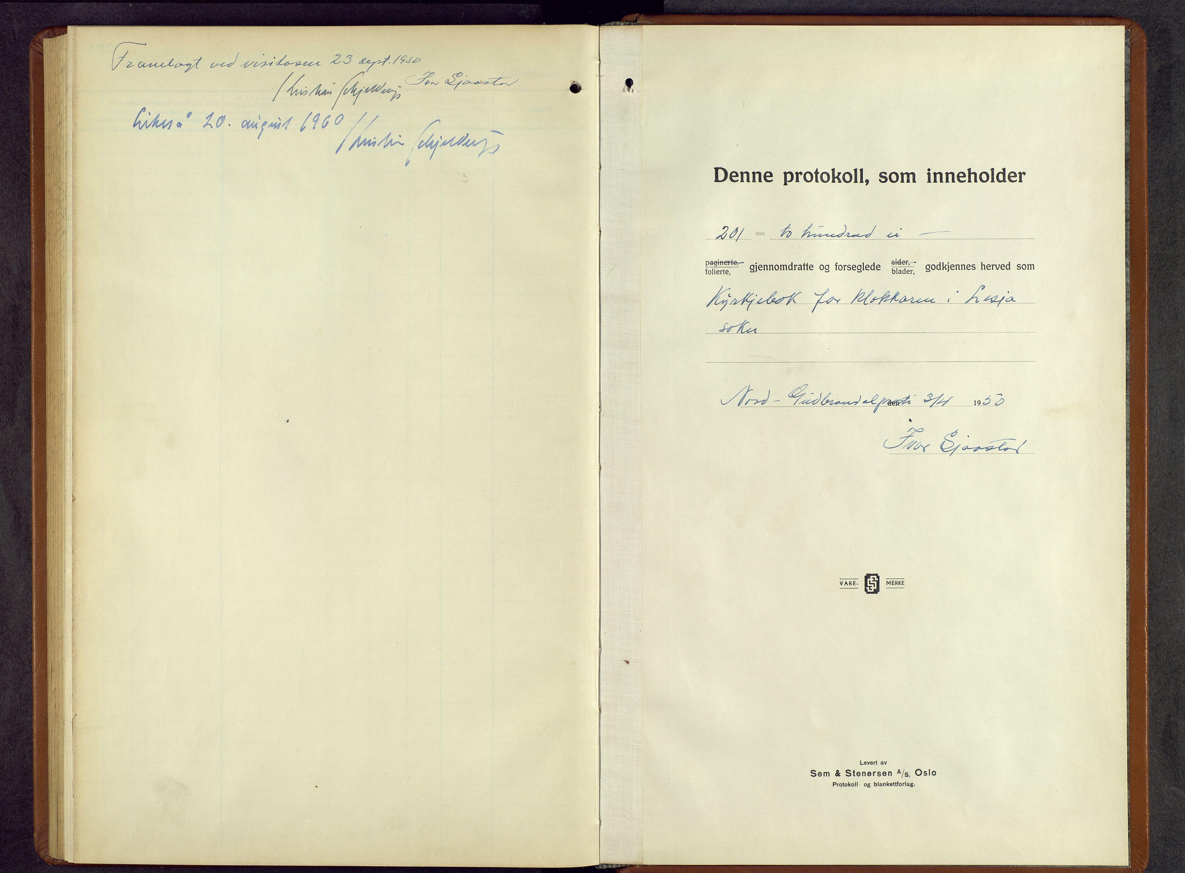SAH, Lesja prestekontor, Parish register (copy) no. 10, 1925-1960