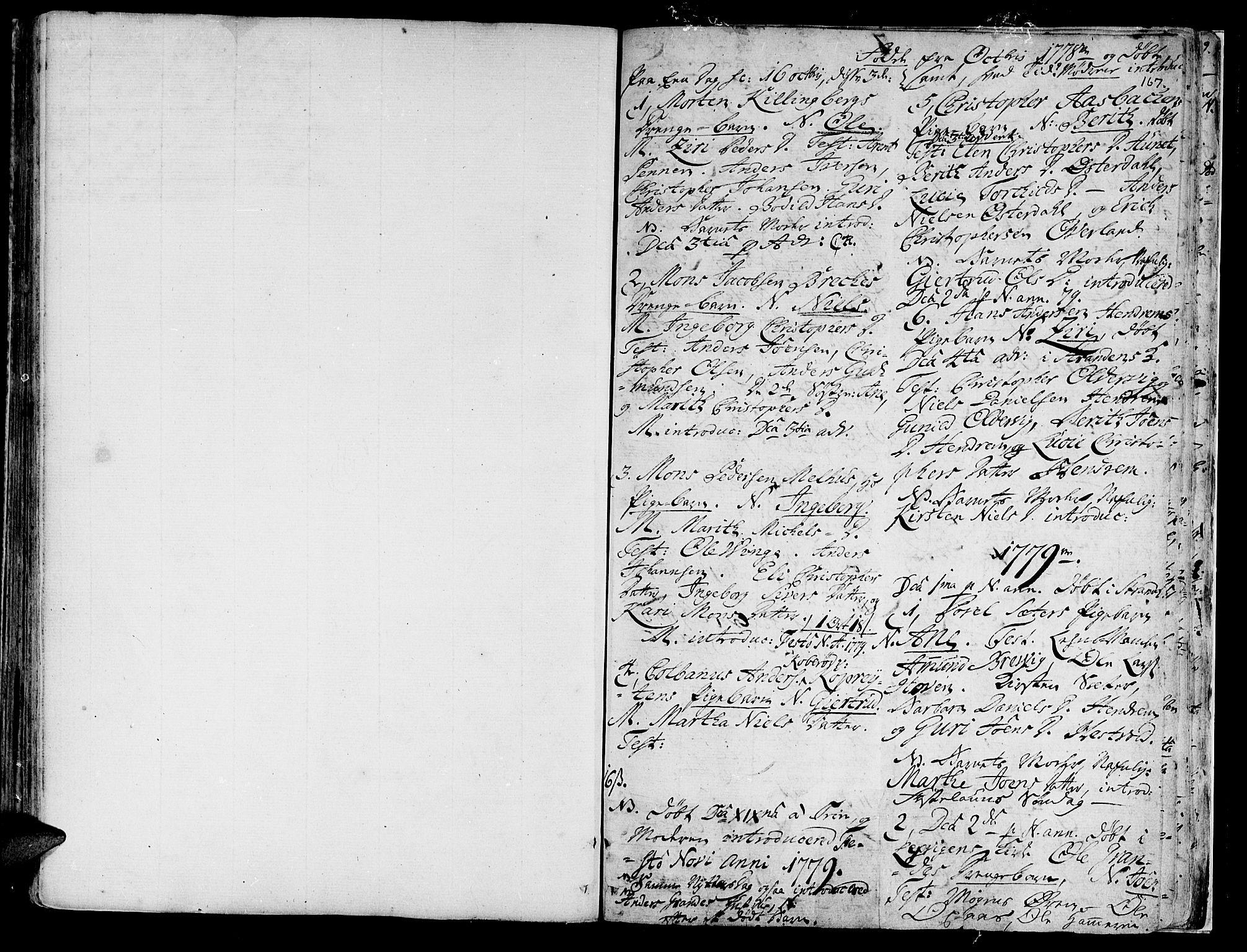 SAT, Ministerialprotokoller, klokkerbøker og fødselsregistre - Nord-Trøndelag, 701/L0003: Parish register (official) no. 701A03, 1751-1783, p. 167
