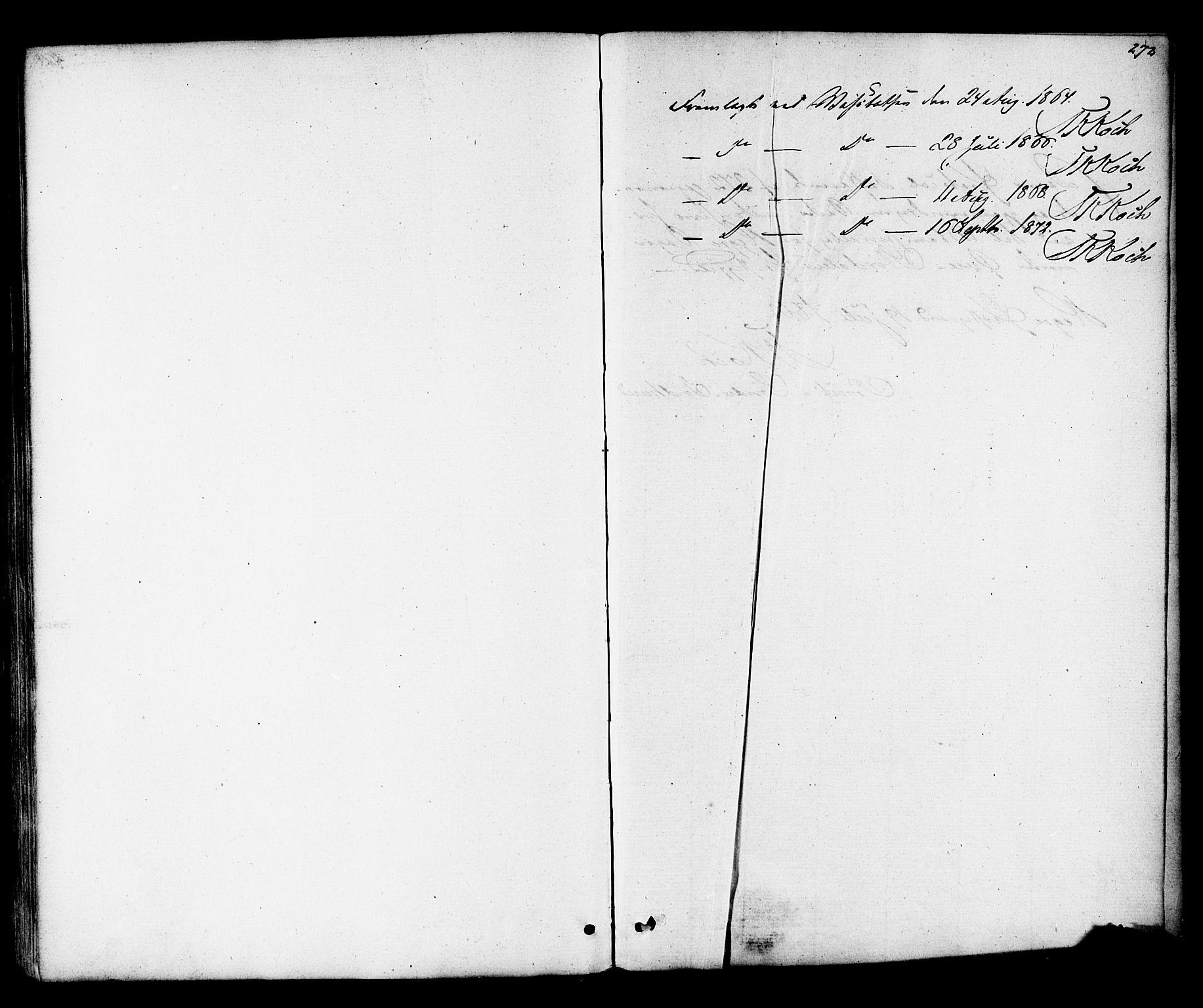 SAT, Ministerialprotokoller, klokkerbøker og fødselsregistre - Nord-Trøndelag, 703/L0029: Parish register (official) no. 703A02, 1863-1879, p. 272