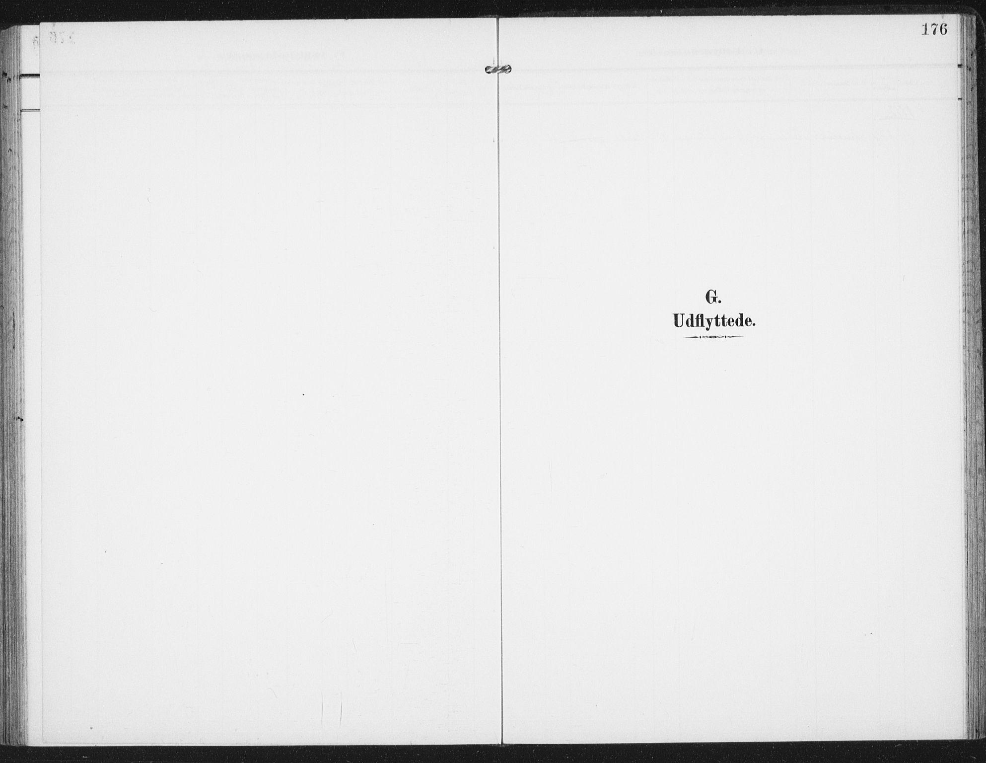 SAT, Ministerialprotokoller, klokkerbøker og fødselsregistre - Nordland, 885/L1206: Parish register (official) no. 885A07, 1905-1915, p. 176