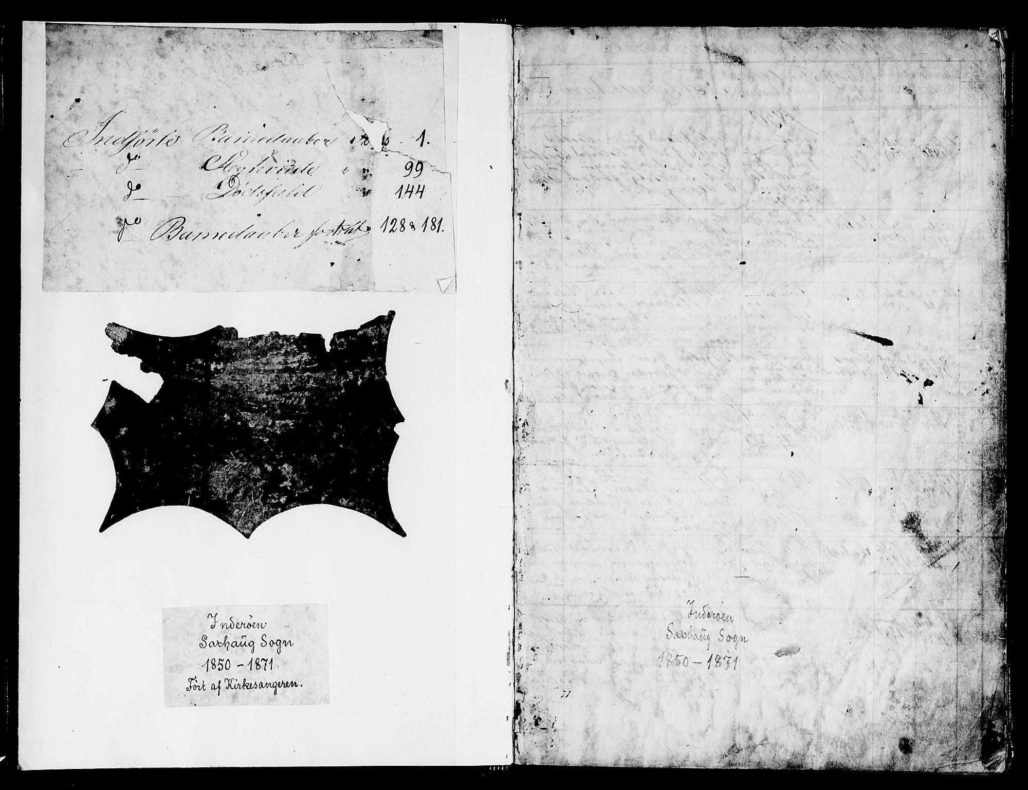 SAT, Ministerialprotokoller, klokkerbøker og fødselsregistre - Nord-Trøndelag, 730/L0299: Parish register (copy) no. 730C02, 1849-1871