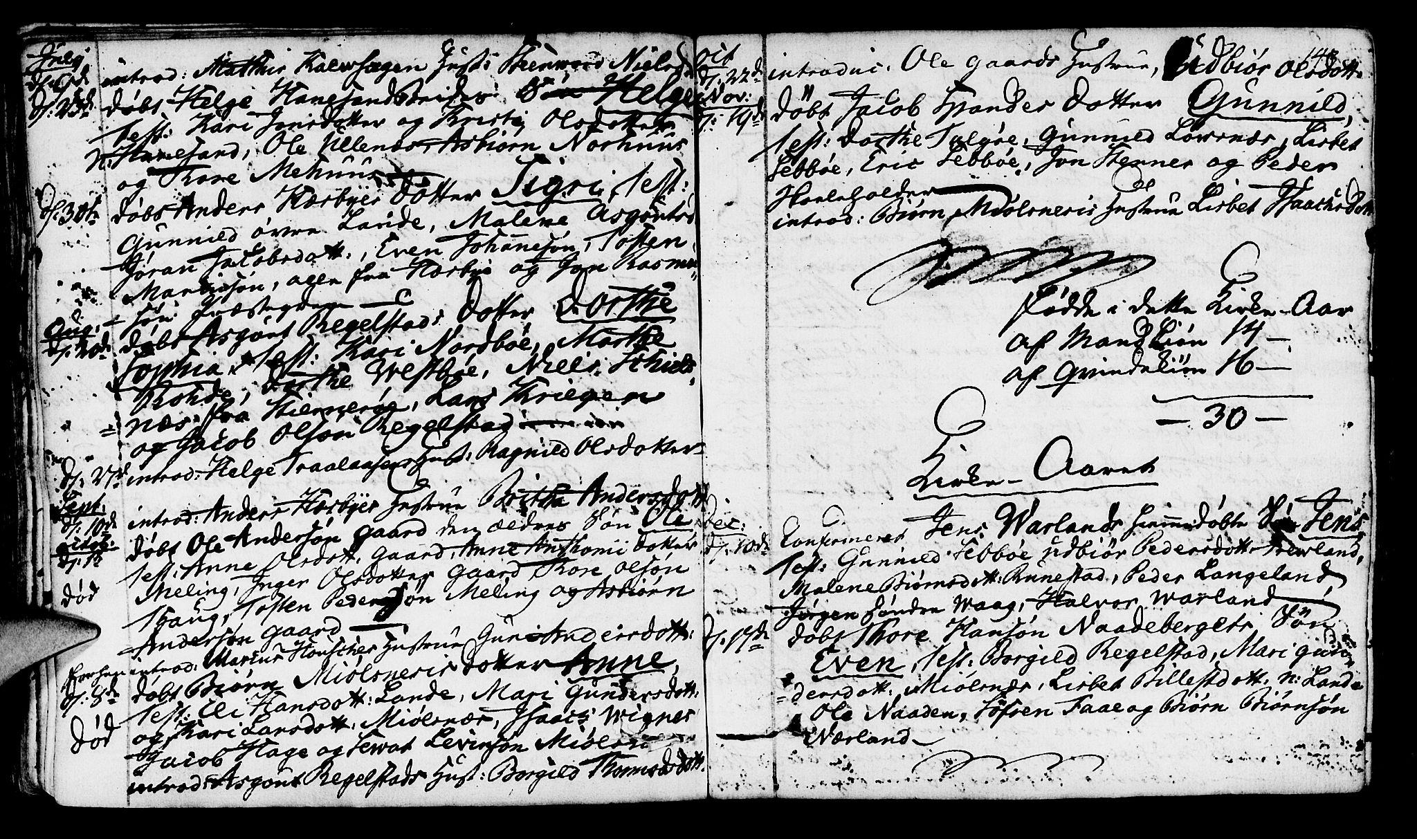 SAST, Finnøy sokneprestkontor, H/Ha/Haa/L0005: Parish register (official) no. A 5, 1773-1816, p. 143