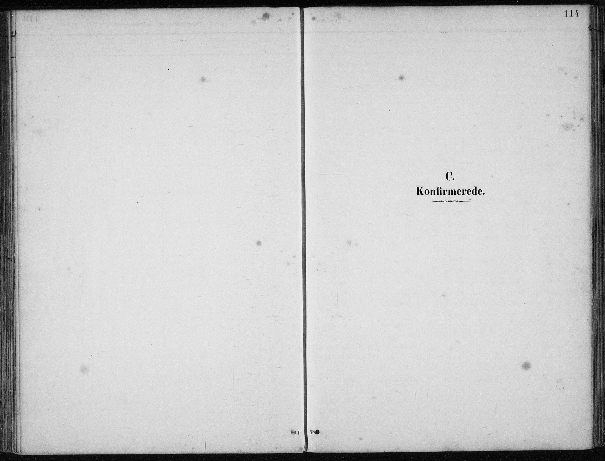 SAB, Os sokneprestembete*, Parish register (official) no. B 1, 1885-1902, p. 114