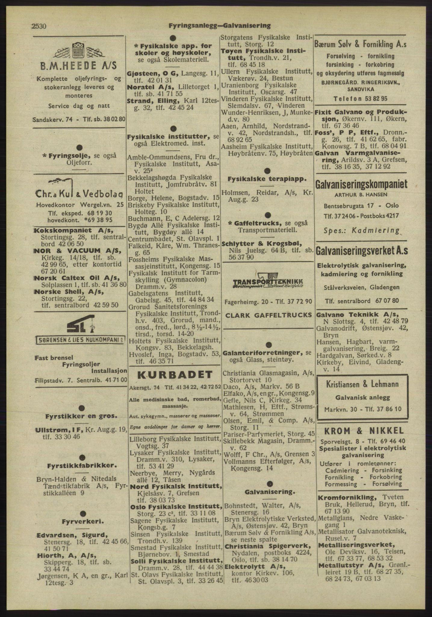 PUBL, Kristiania/Oslo adressebok, 1955, p. 2530