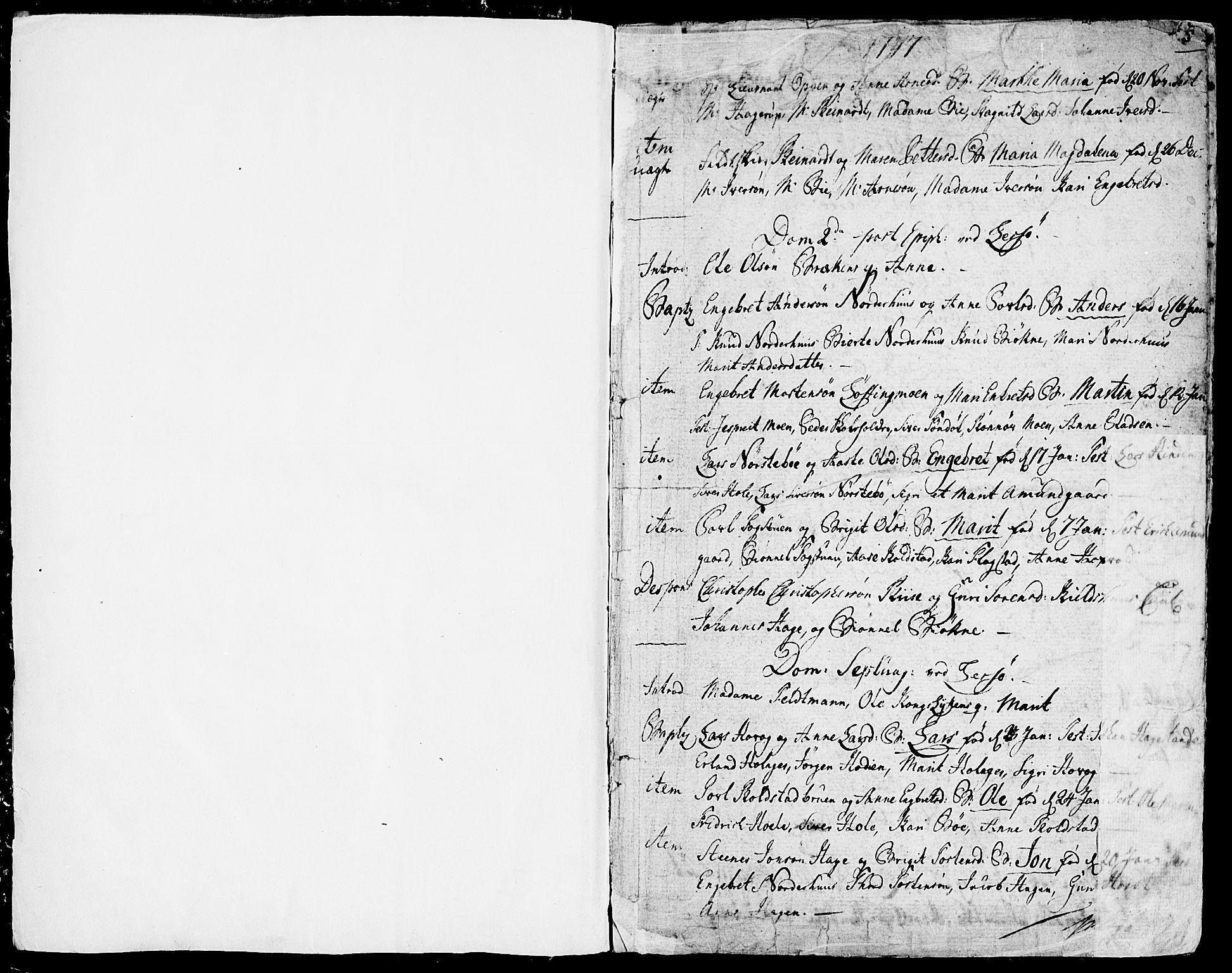 SAH, Lesja prestekontor, Parish register (official) no. 3, 1777-1819, p. 4-5