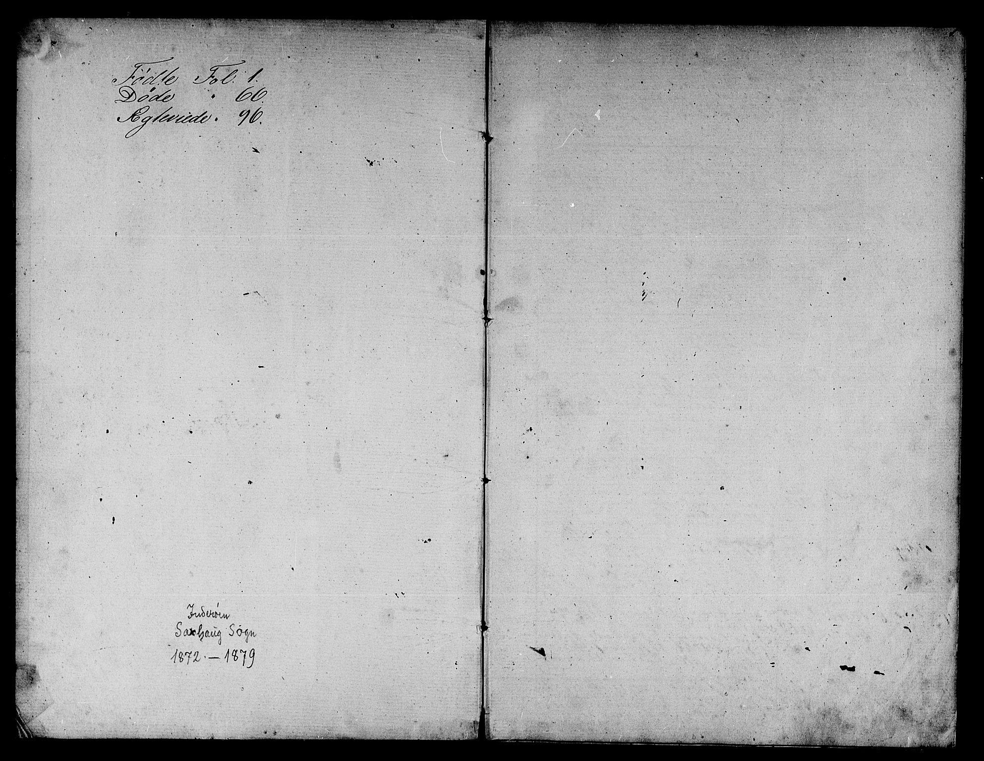 SAT, Ministerialprotokoller, klokkerbøker og fødselsregistre - Nord-Trøndelag, 730/L0300: Parish register (copy) no. 730C03, 1872-1879, p. 1