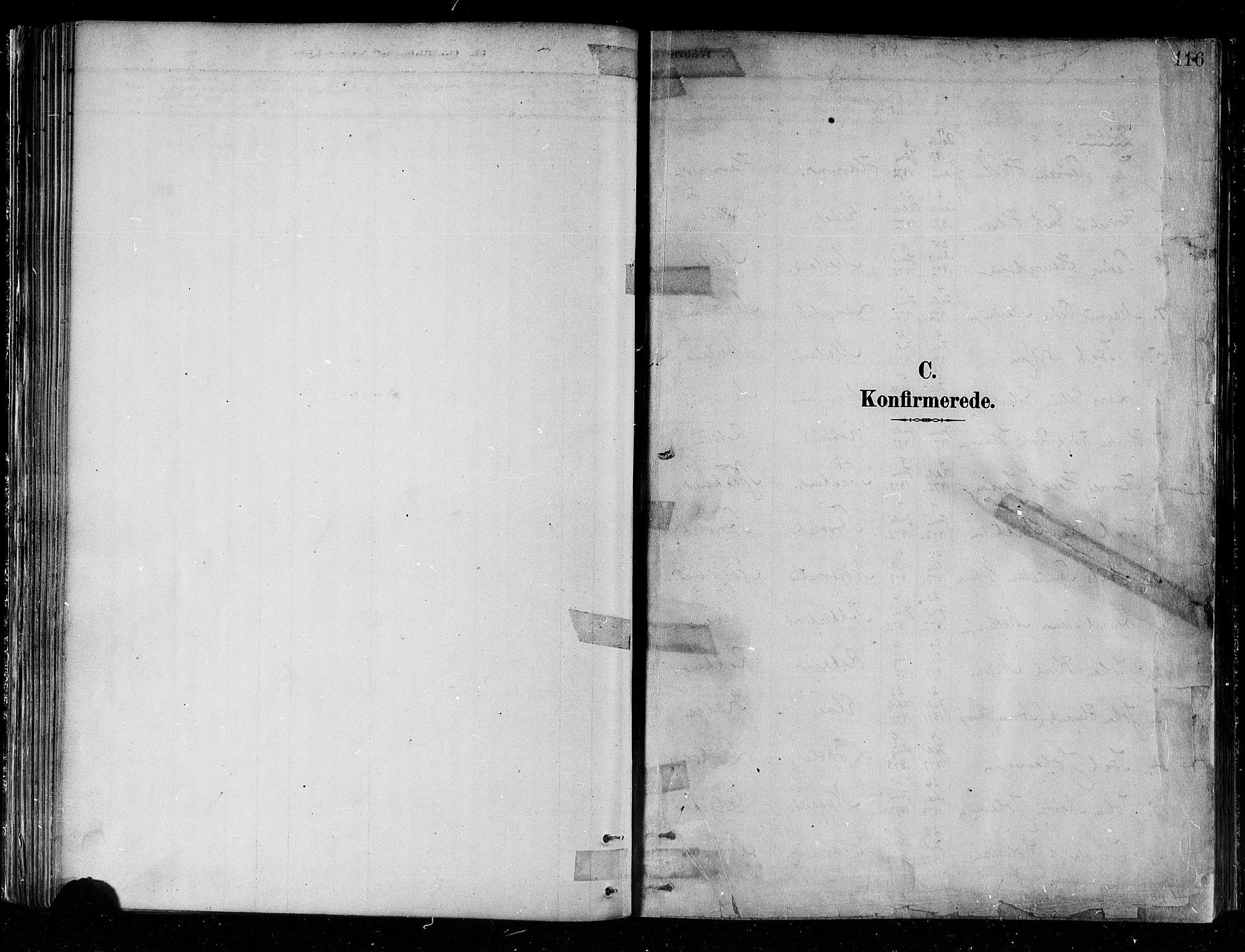 SATØ, Skjervøy sokneprestkontor, H/Ha/Haa/L0010kirke: Parish register (official) no. 10, 1887-1898, p. 116