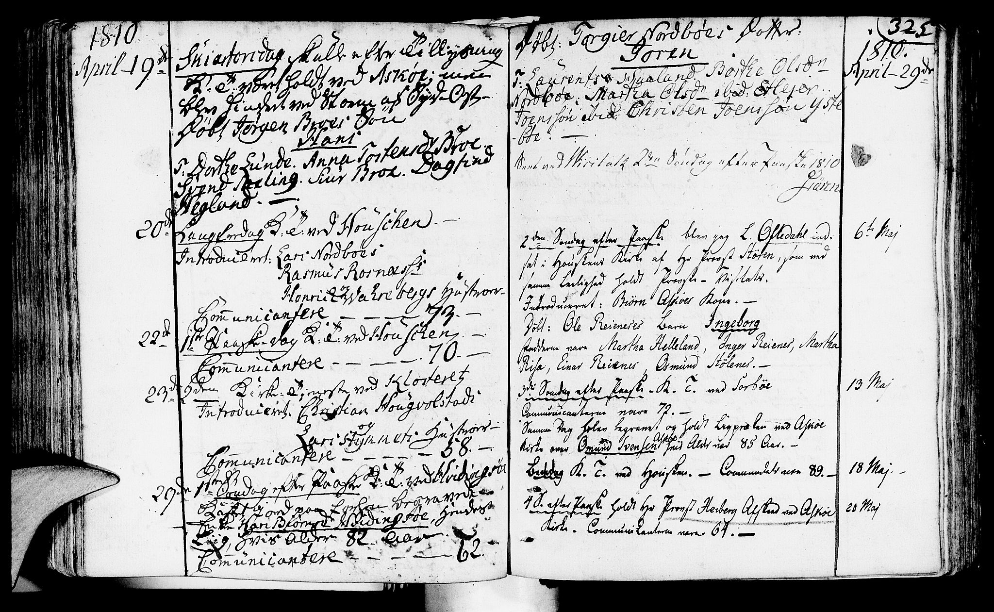 SAST, Rennesøy sokneprestkontor, H/Ha/Haa/L0003: Parish register (official) no. A 3, 1772-1815, p. 325