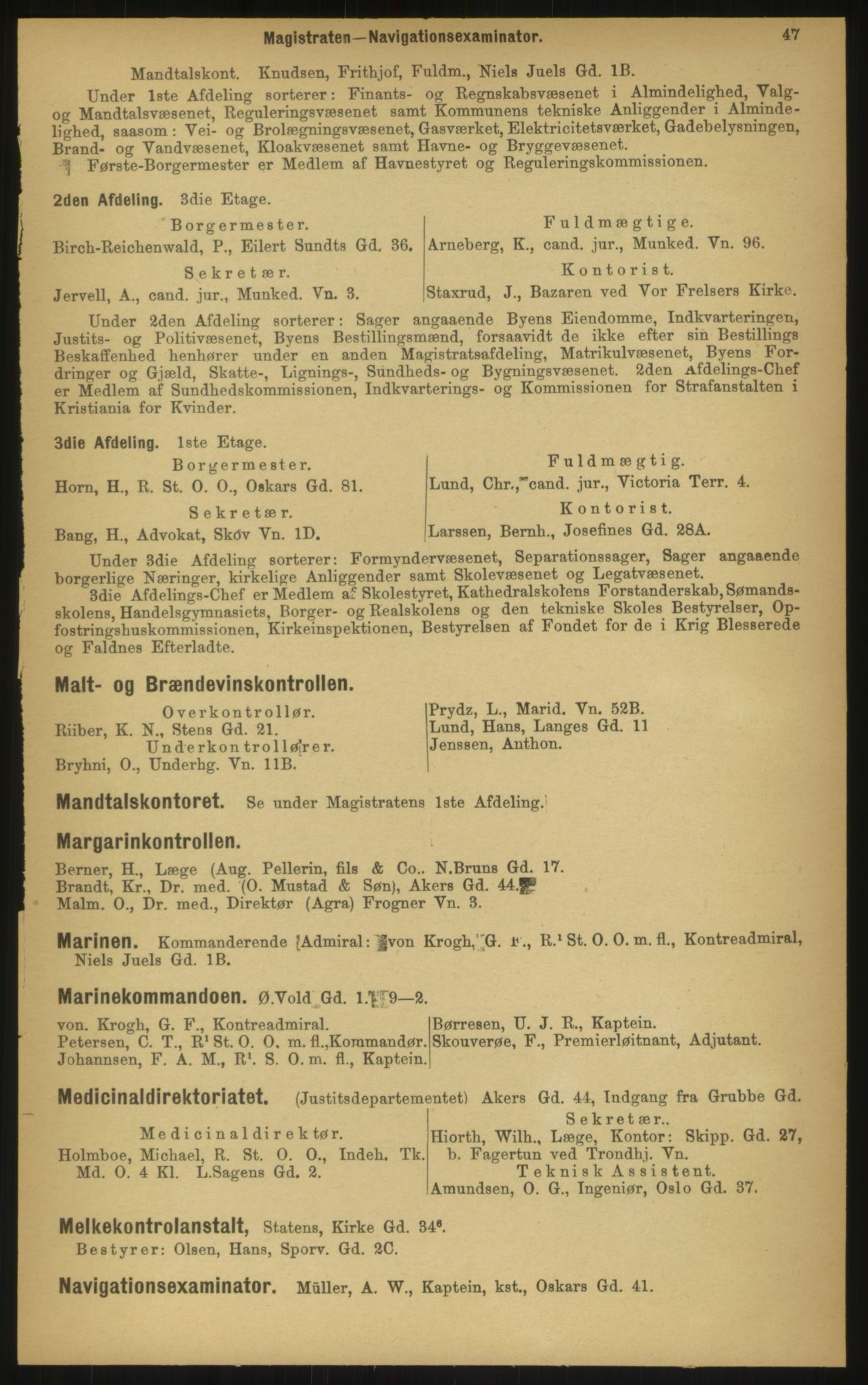 PUBL, Kristiania/Oslo adressebok, 1897, p. 47
