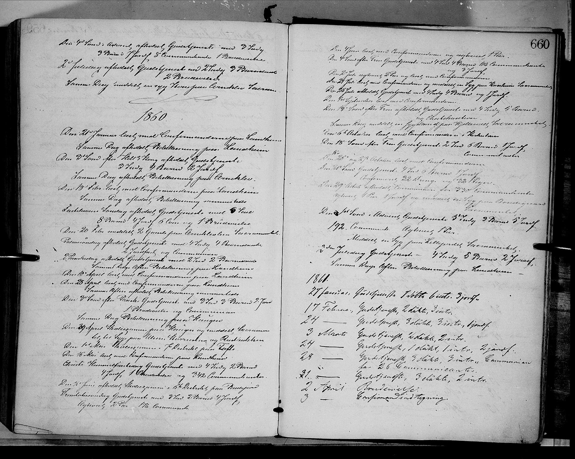 SAH, Dovre prestekontor, Parish register (official) no. 1, 1854-1878, p. 660