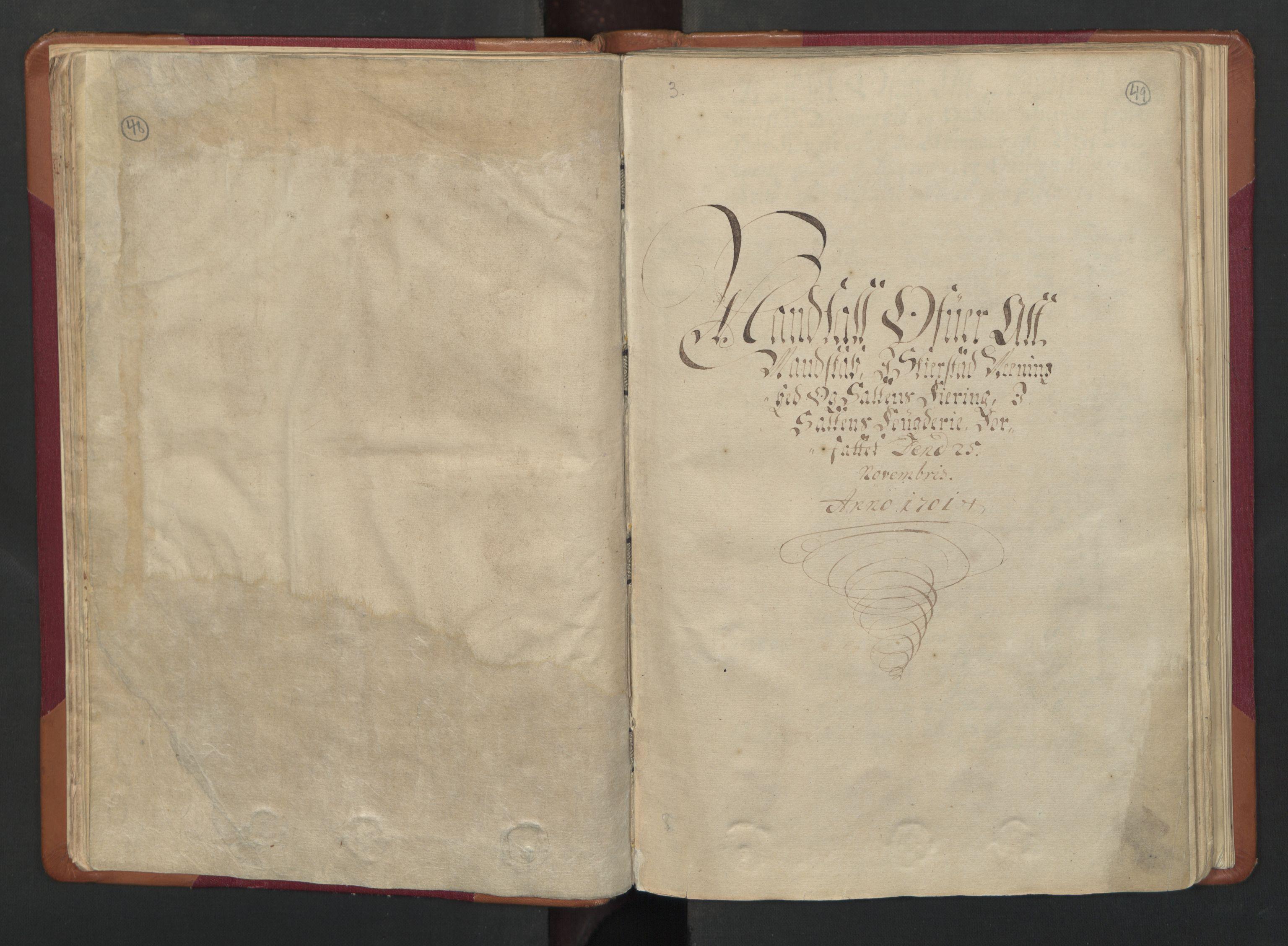 RA, Census (manntall) 1701, no. 17: Salten fogderi, 1701, p. 48-49