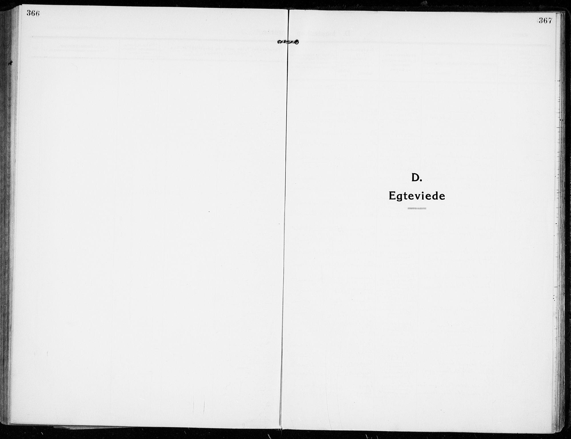 SAKO, Strømsgodset kirkebøker, F/Fa/L0002: Parish register (official) no. 2, 1910-1920, p. 366-367