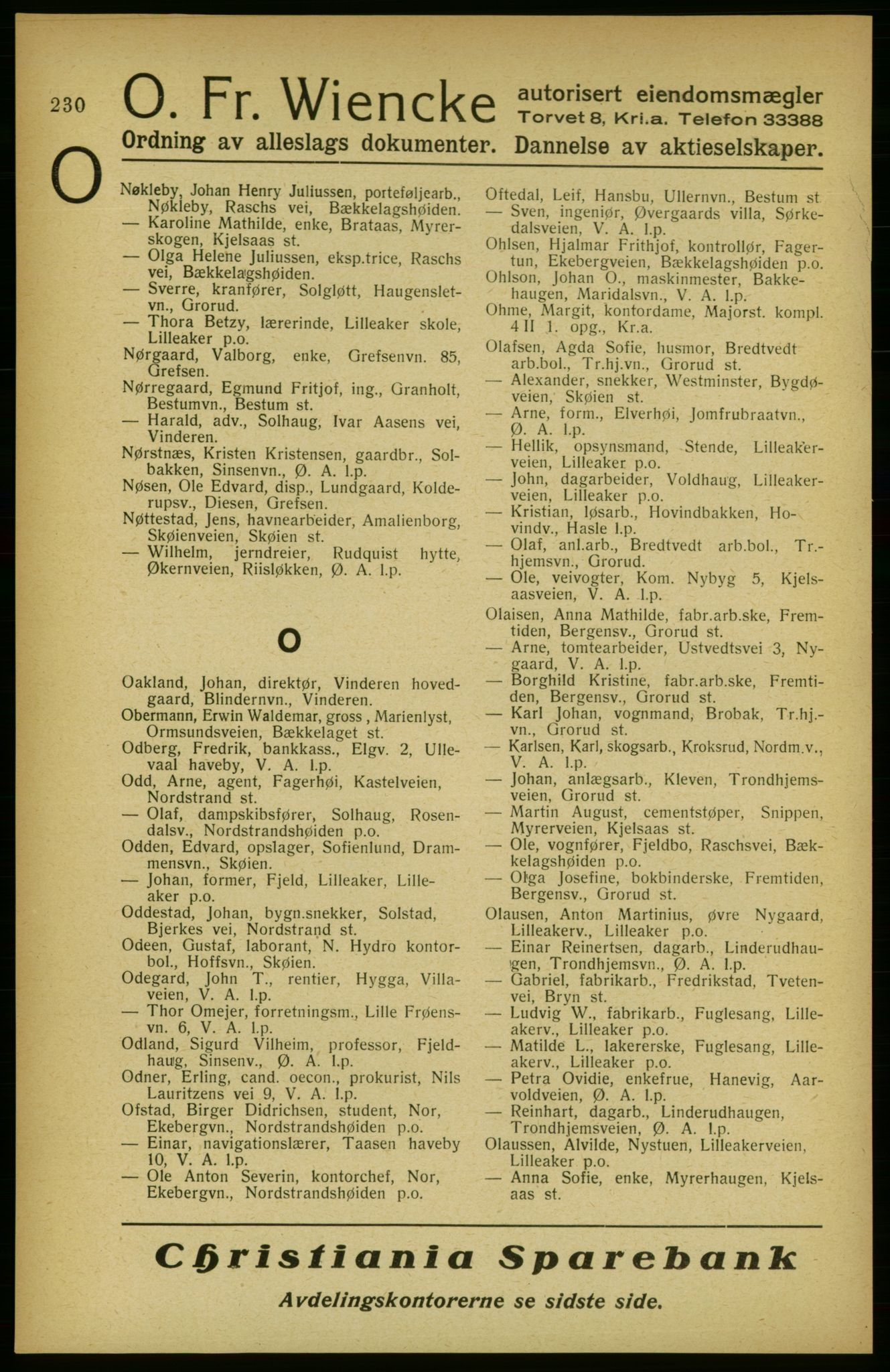 PUBL, Aker adressebok/adressekalender, 1922, p. 230