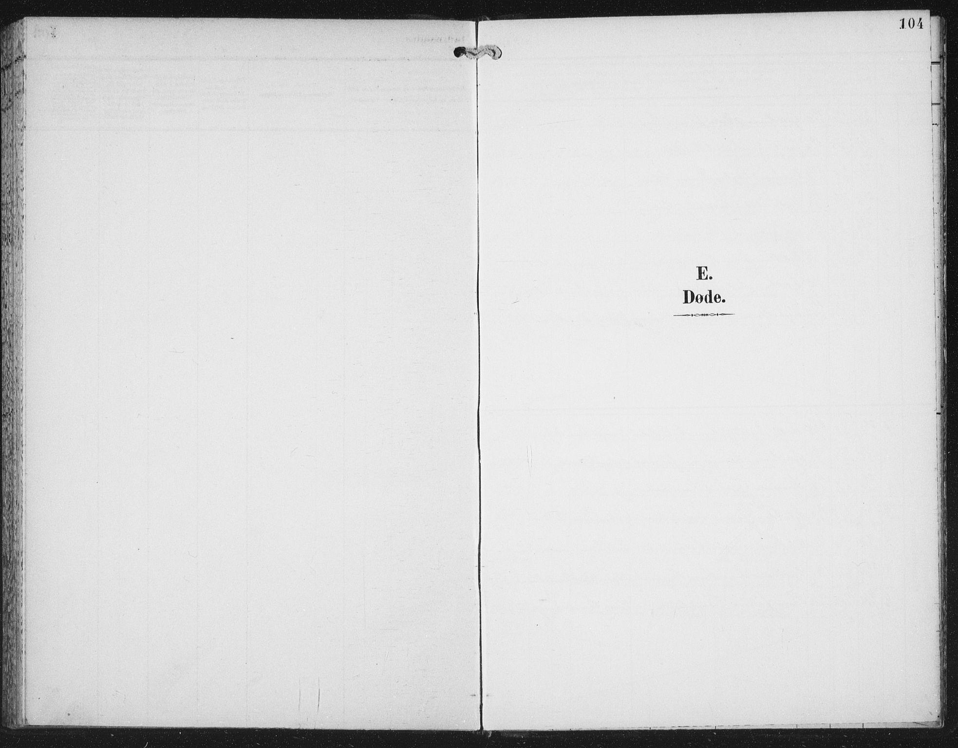 SAT, Ministerialprotokoller, klokkerbøker og fødselsregistre - Nord-Trøndelag, 702/L0024: Parish register (official) no. 702A02, 1898-1914, p. 104