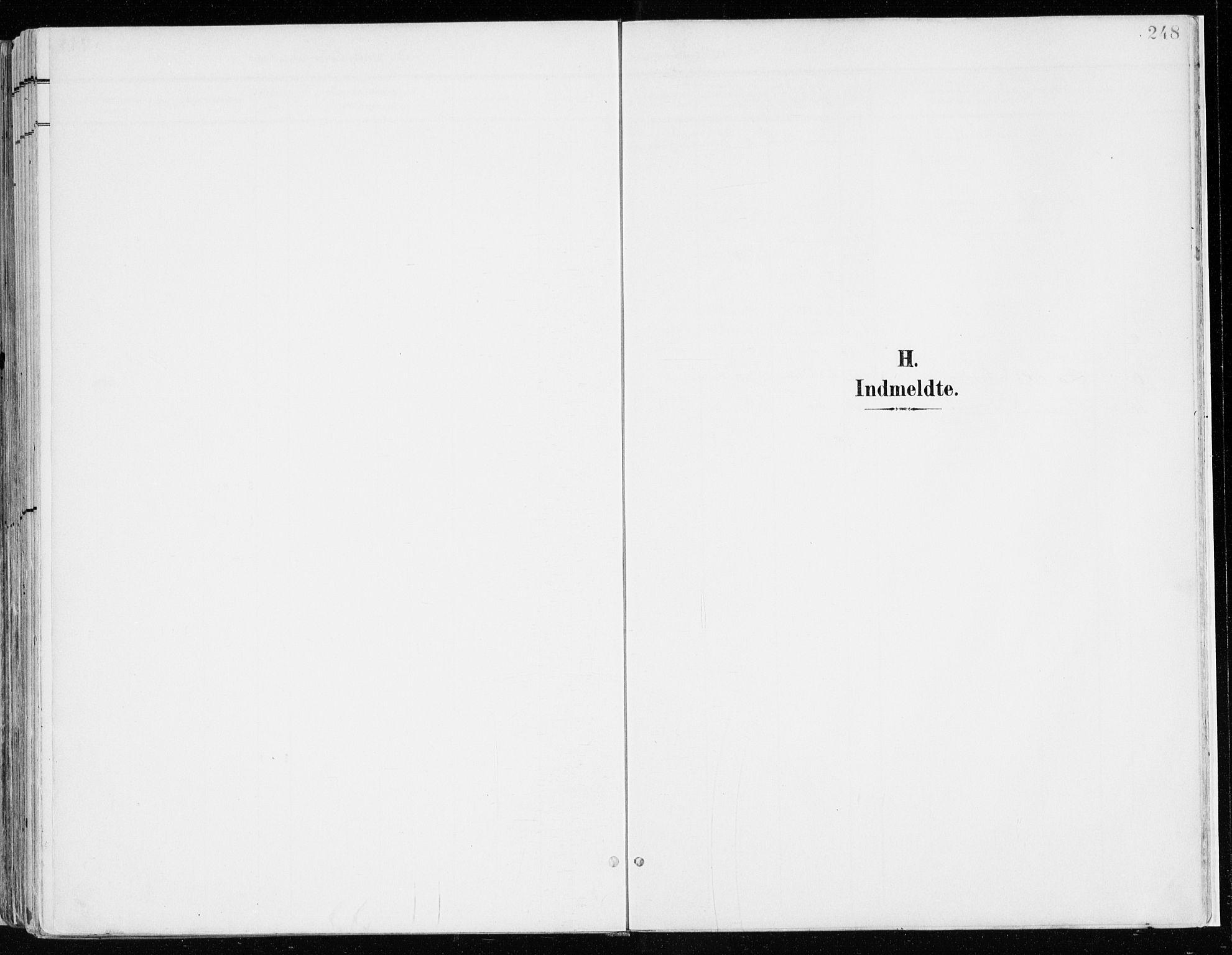 SAH, Nord-Odal prestekontor, Parish register (official) no. 9, 1902-1926, p. 248