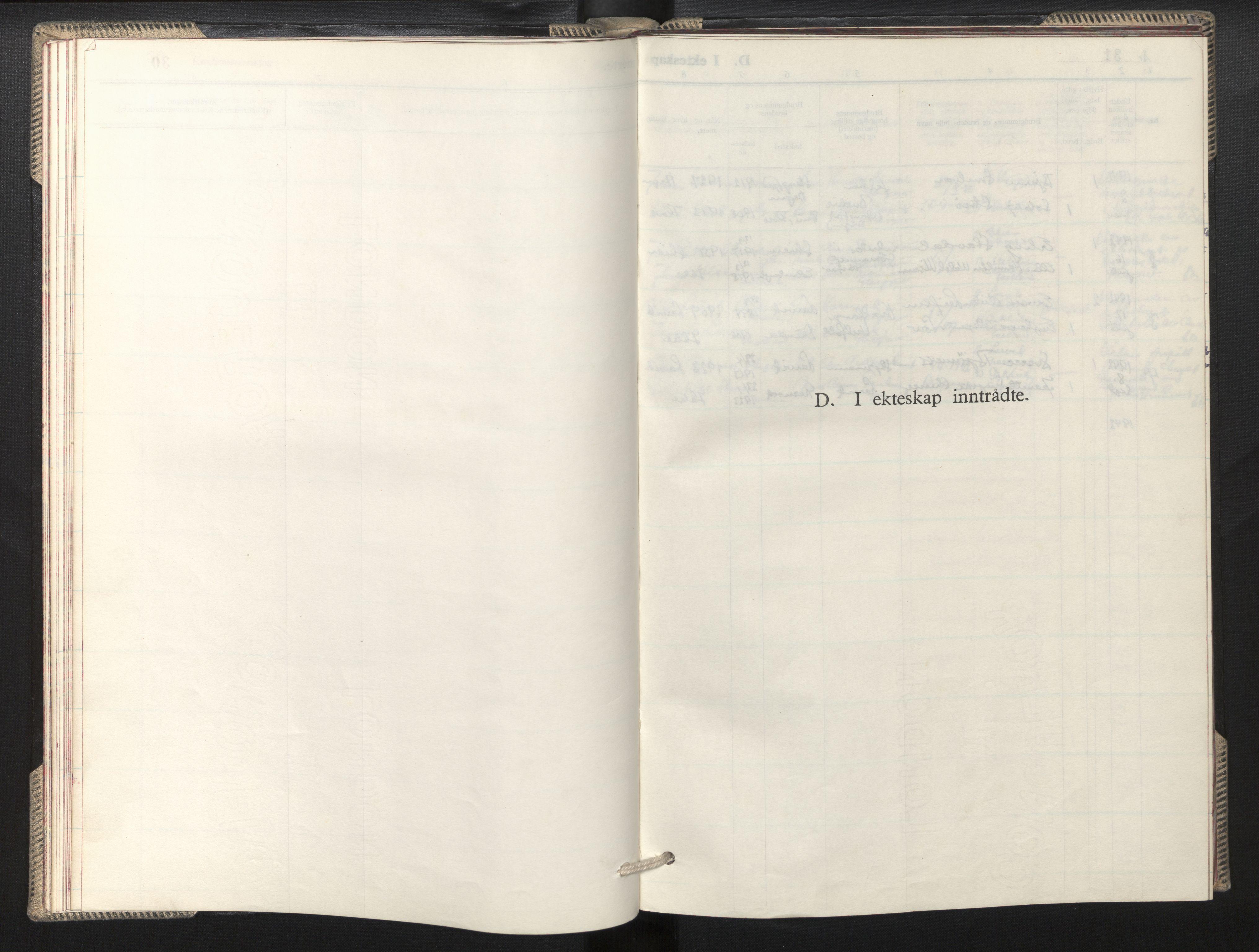 SAB, Privatarkiv 100 - Den norske sjømannsmisjon i utlandet/Skotske havner (Leith, Glasgow), H/Ha/Hab/L0002: Parish register (official) no. A 2, 1940-1946